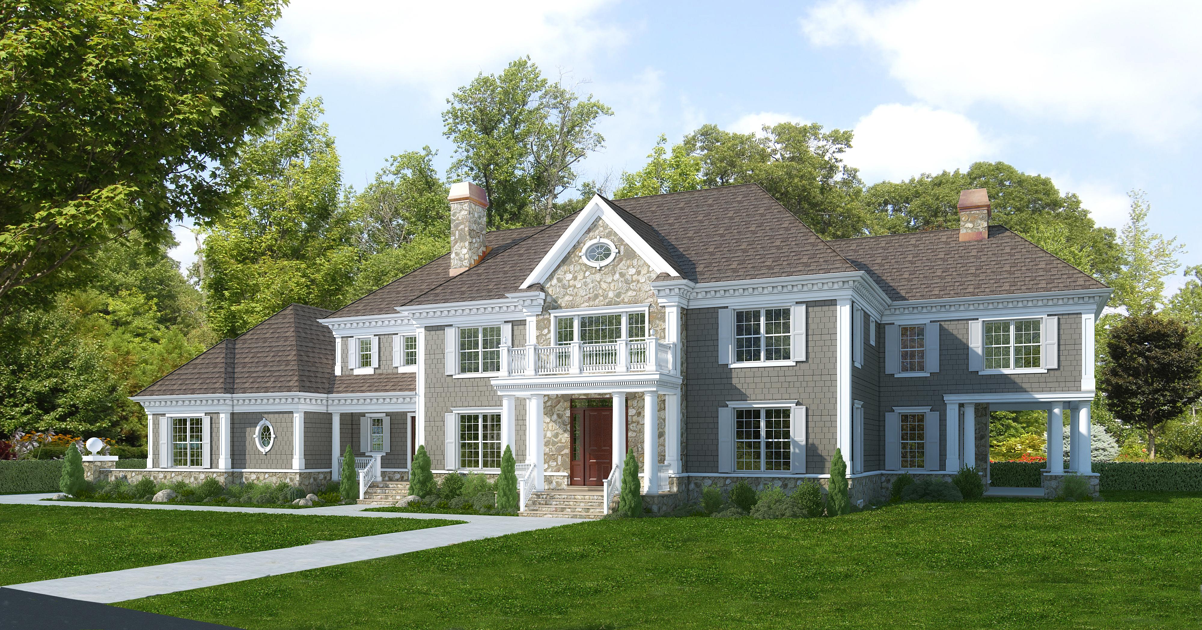 Casa Unifamiliar por un Venta en 14 Rockledge Road Rye, Nueva York, 10580 Estados Unidos