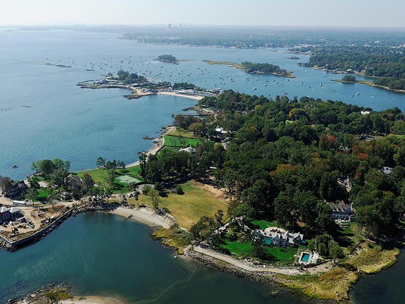 地產 為 出售 在 The Ultimate Waterfront Property 3 & 5 Parsonage Point Place Rye, 紐約州 10580 美國