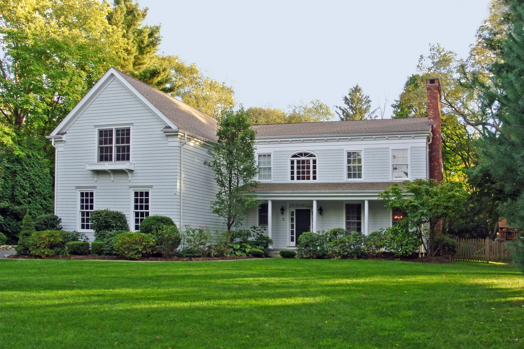 sales property at Elegant Colonial on a Private Lane