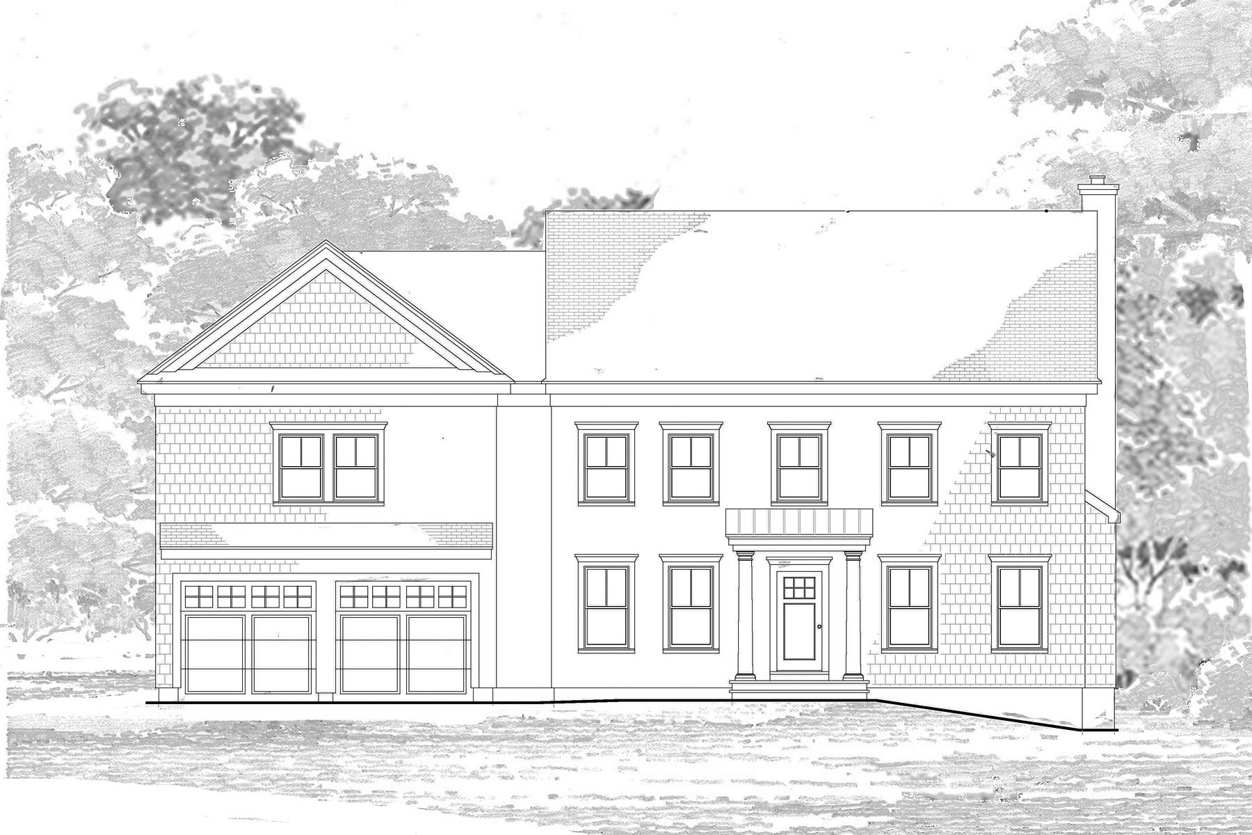 Casa para uma família para Venda às Stunning New Construction 5 Barbara Place Westport, Connecticut 06880 Estados Unidos