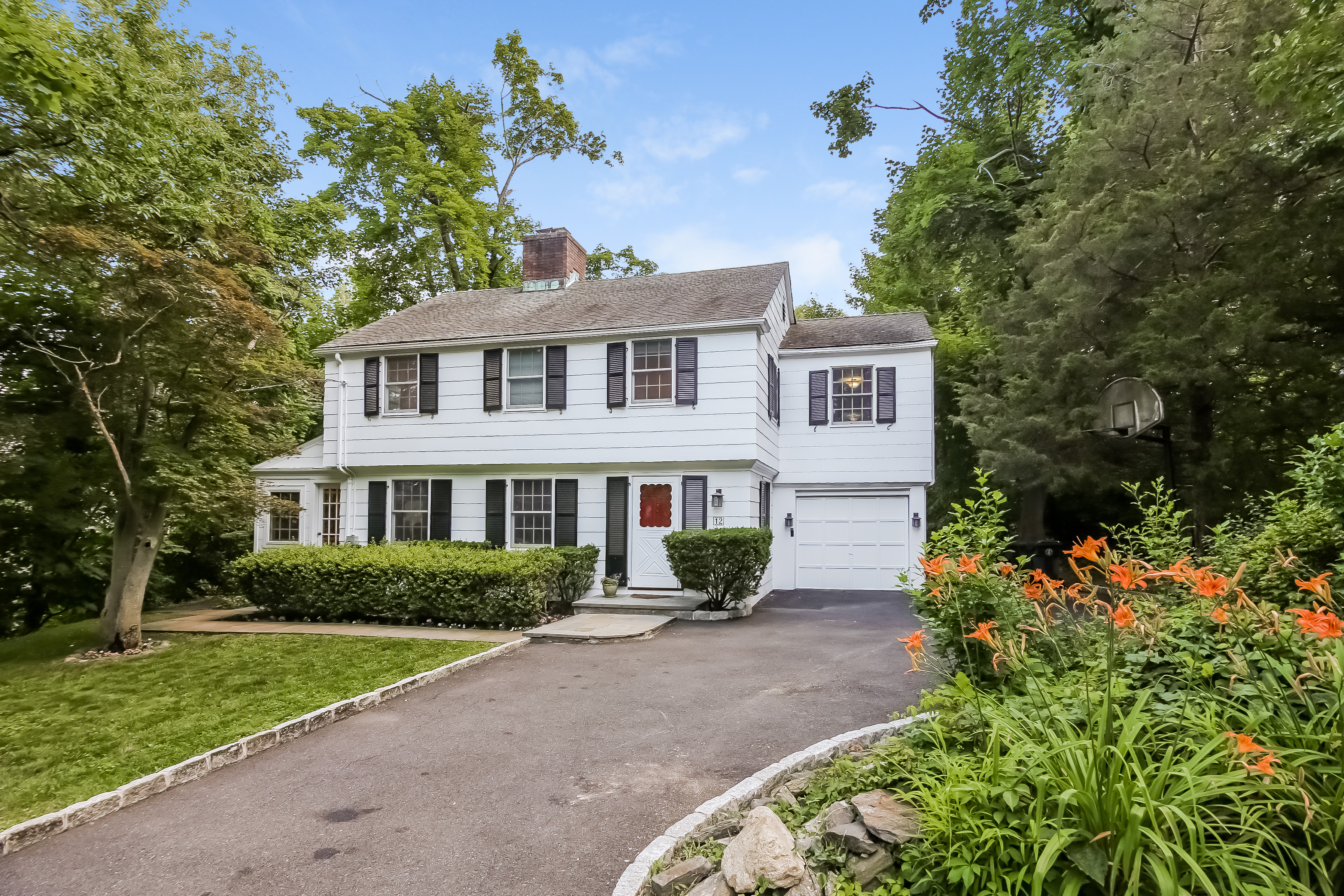 Single Family Home for Sale at Wonderfully Renovated Edgemont Colonial 12 Old Lane Scarsdale, New York 10583 United States
