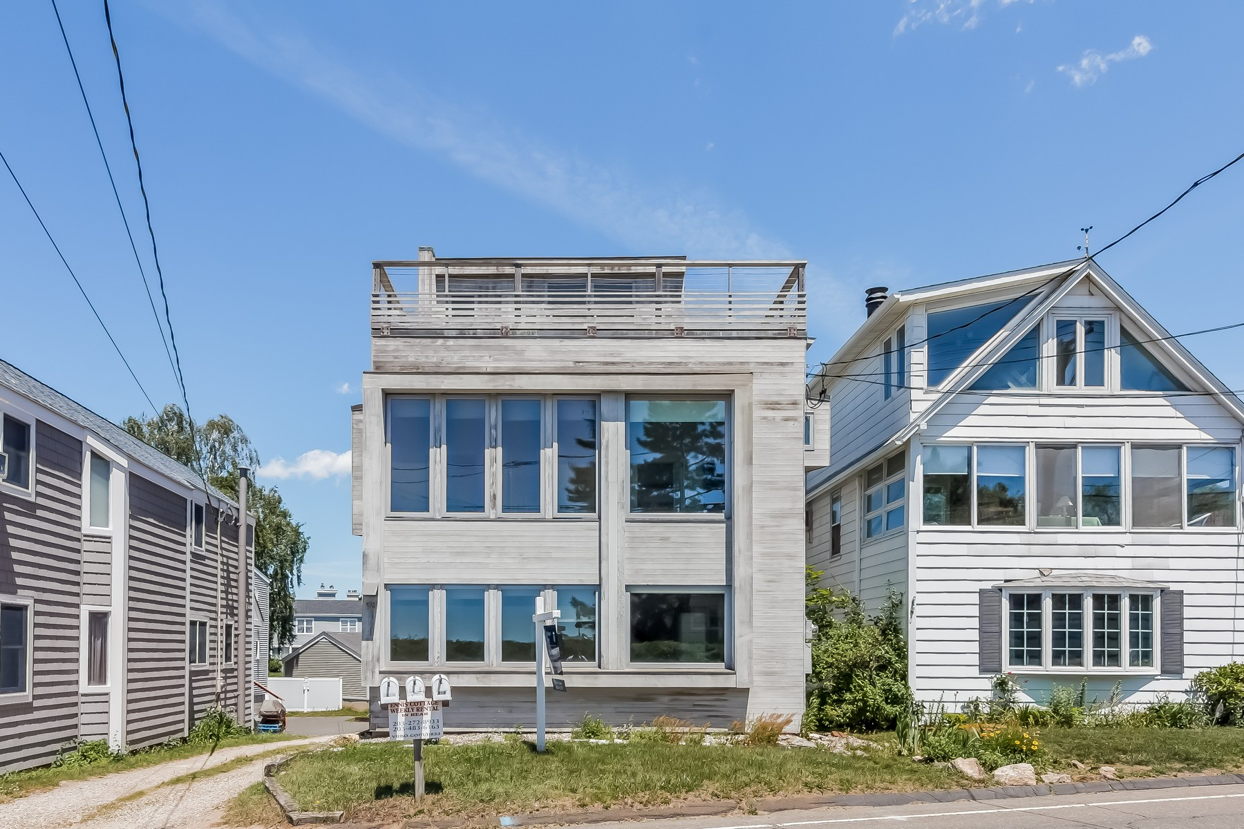 Single Family Home for Sale at Stunning Views 98 Limewood Ave Branford, Connecticut, 06405 United States