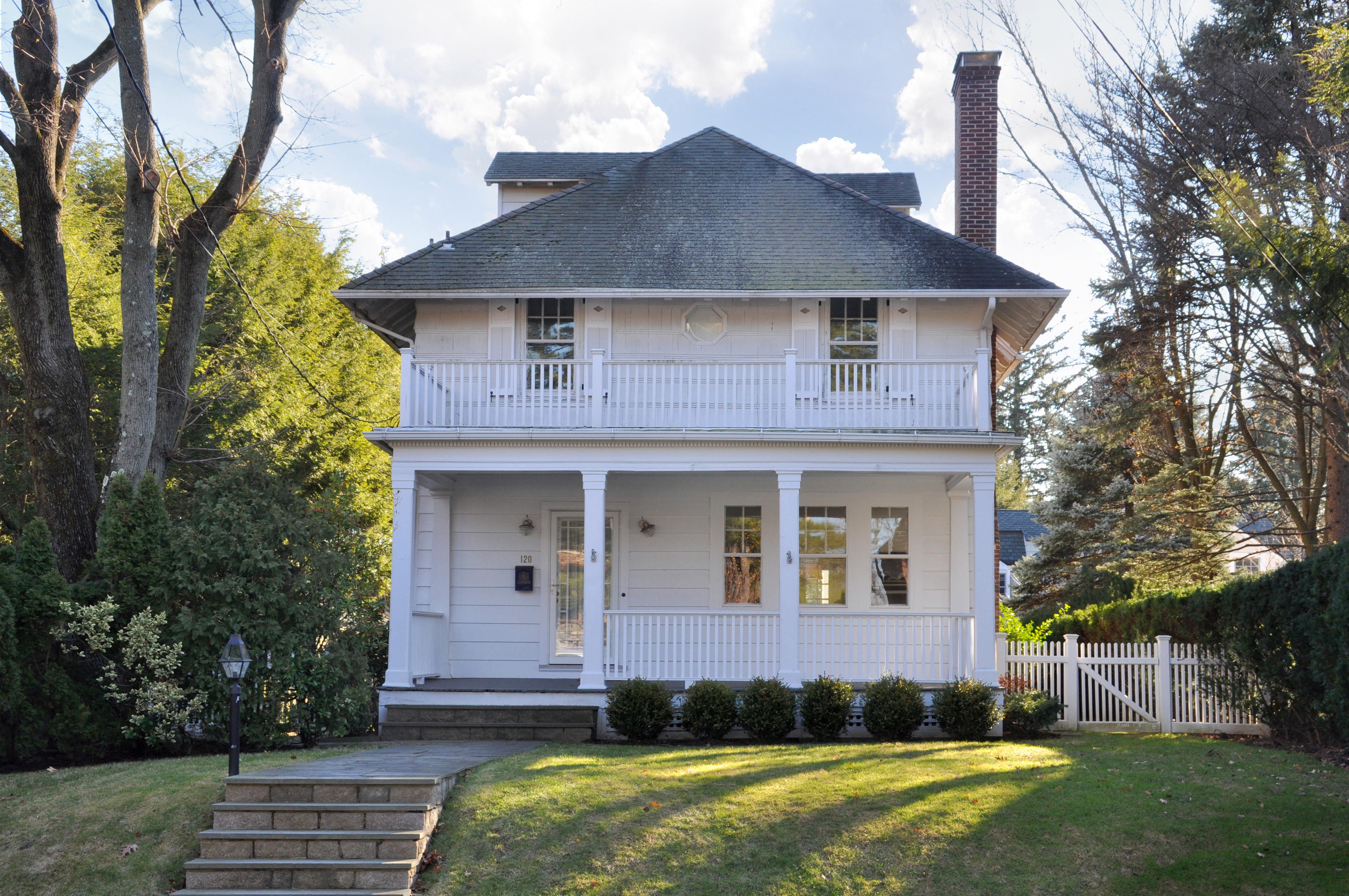 Single Family Home for Sale at Quintessential Farmhouse 120 Tanglewylde Avenue Bronxville, New York 10708 United States