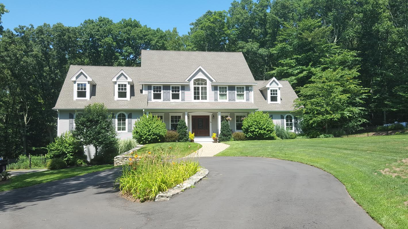 Single Family Home for Sale at Custom Built Farmhouse Colonial 36 Aunt Pattys Lane West Bethel, Connecticut, 06801 United States