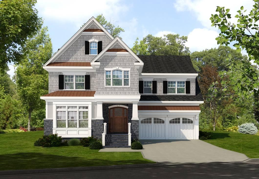 Maison unifamiliale pour l Vente à Fabulous New Construction 42 Huntington Avenue Scarsdale, New York 10583 États-Unis