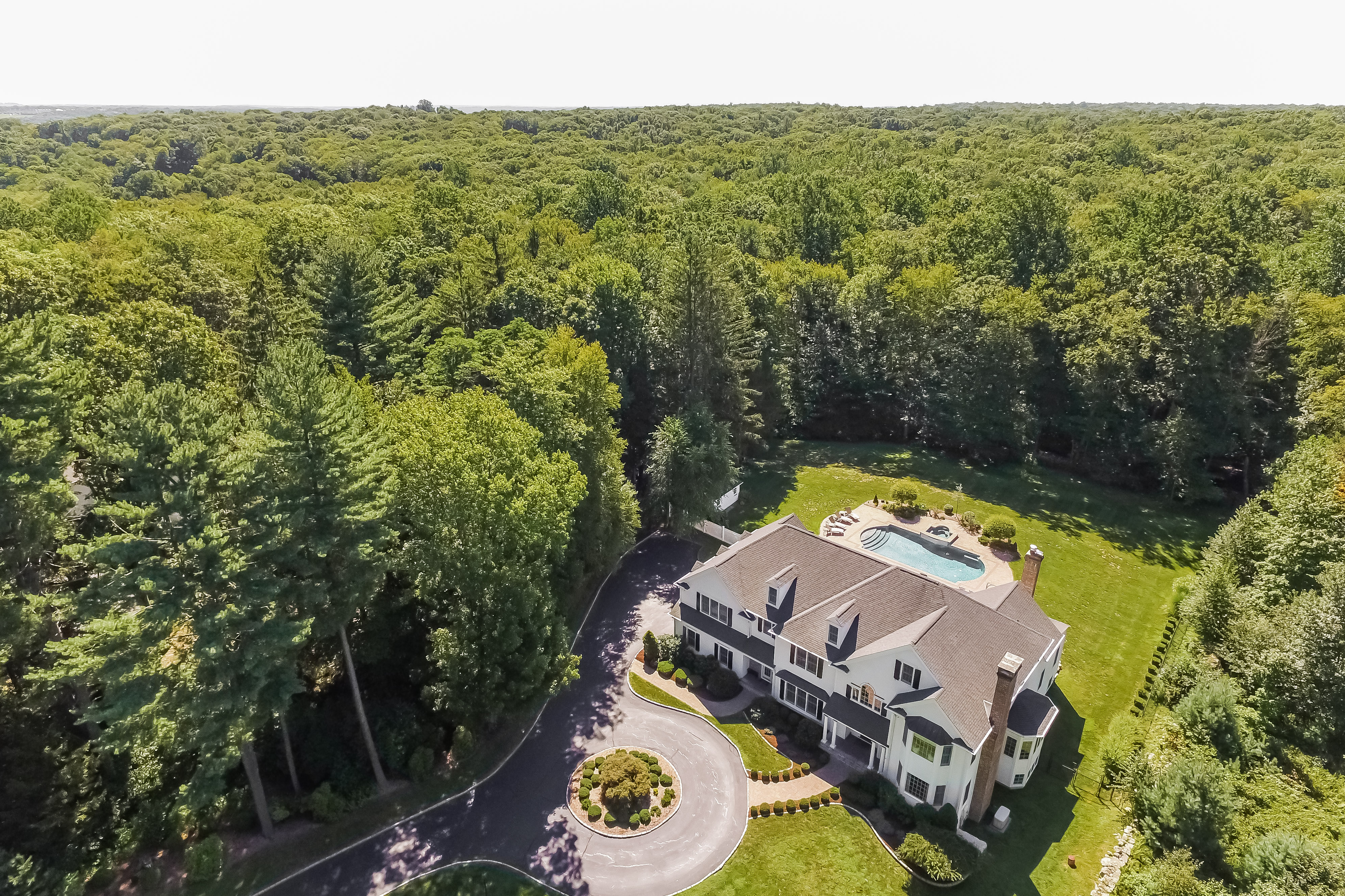 Single Family Home for Sale at Exceptional Custom Designed Home 6 Eustis Lane Ridgefield, Connecticut, 06877 United States