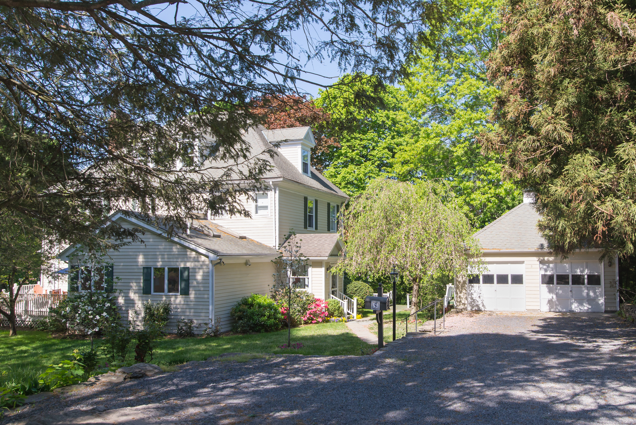 Single Family Home for Sale at Central Rye Historic Colonial 5 Ralston Street Rye, New York 10580 United States