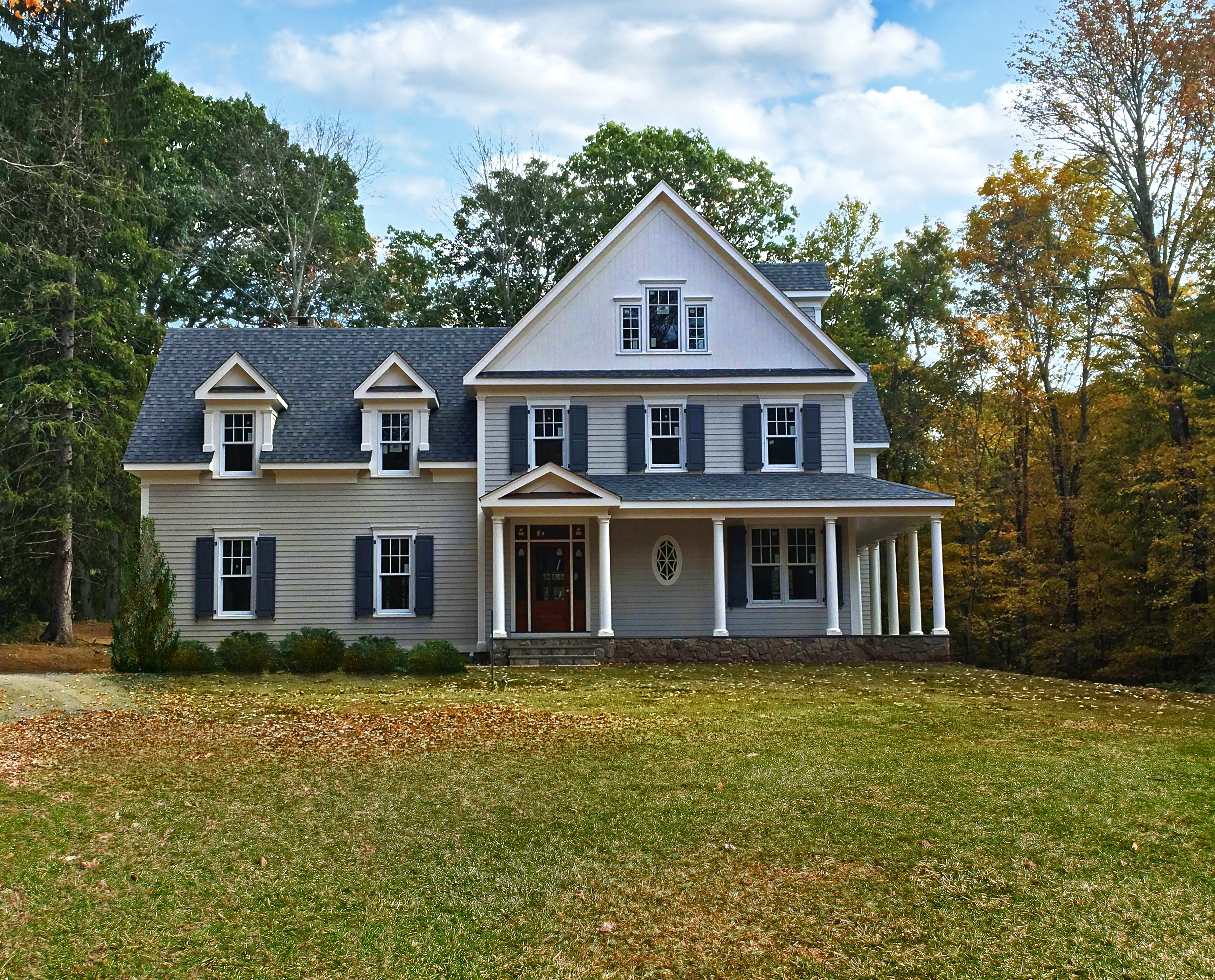 Single Family Home for Sale at New Construction 263 Peaceable Street Ridgefield, Connecticut, 06877 United States