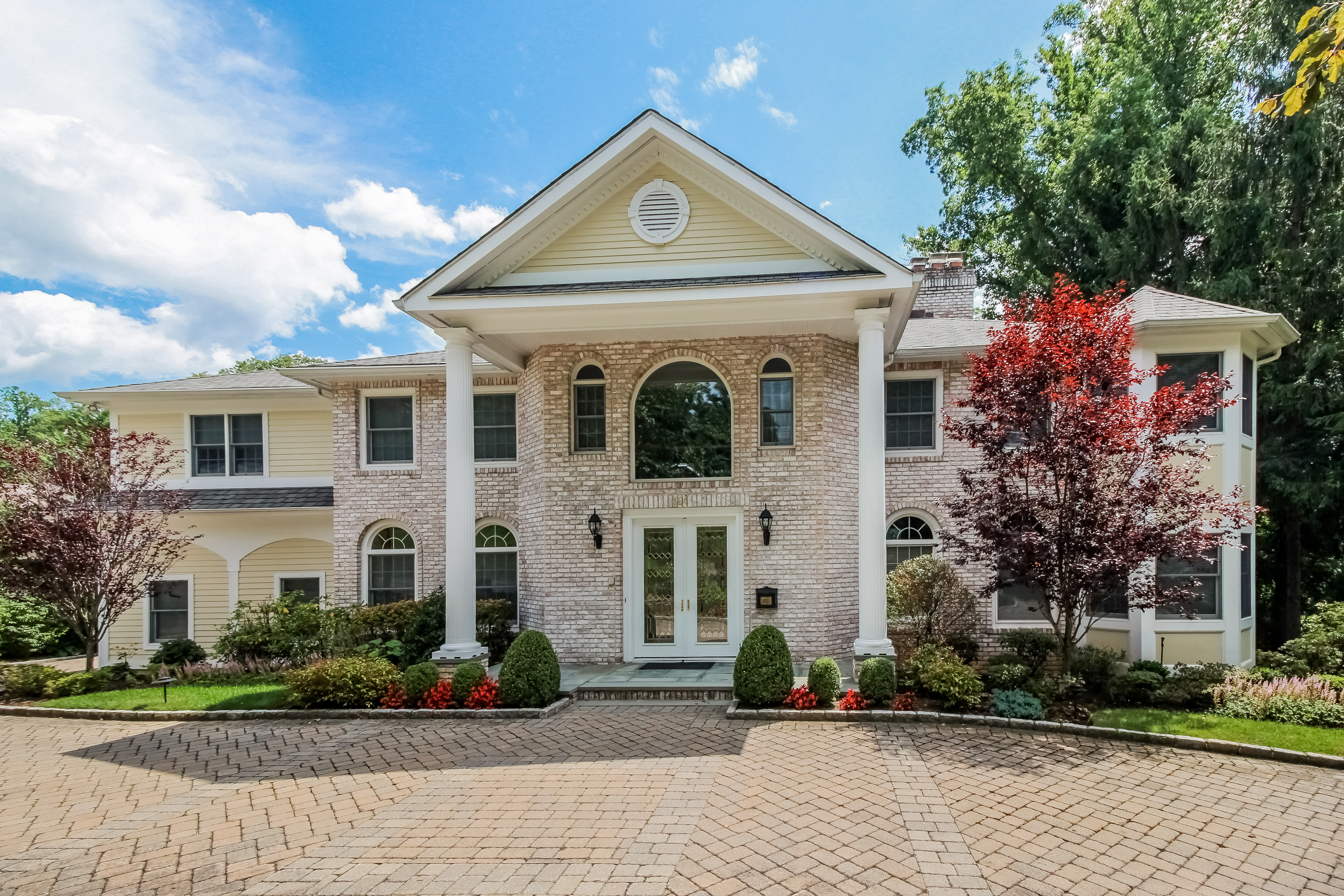 sales property at Center Hall Colonial in Lake Isle Estates