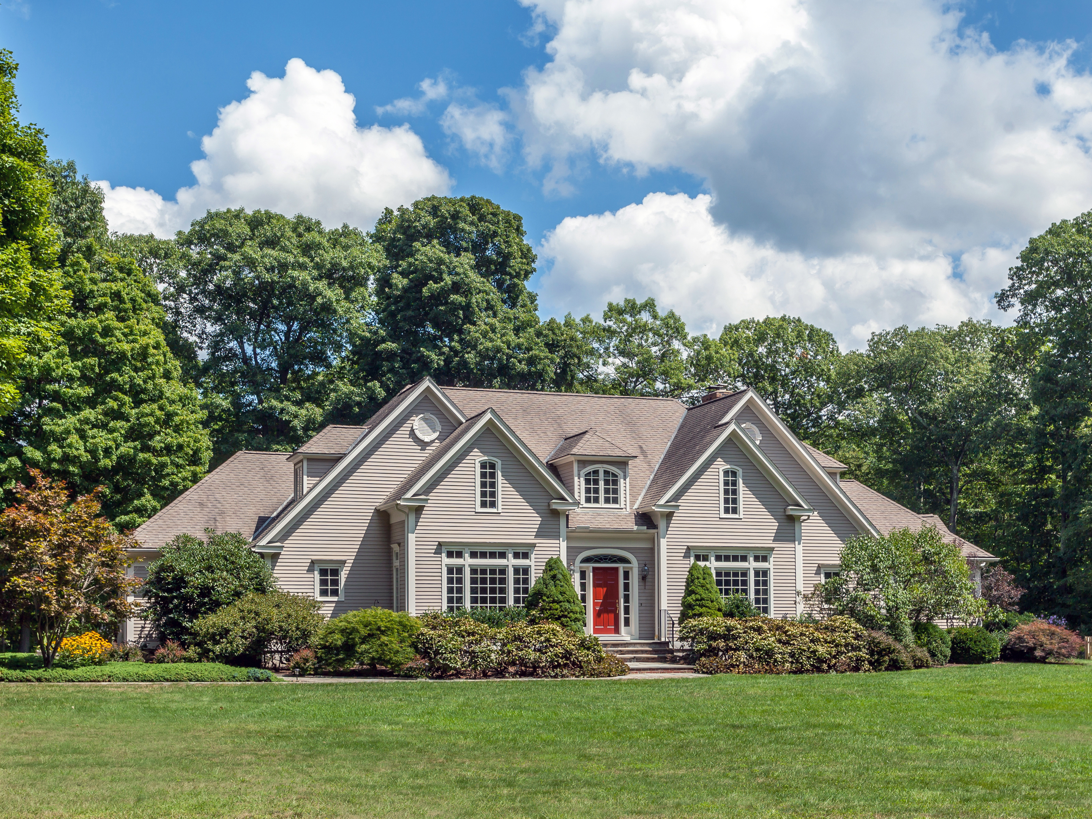 Single Family Home for Sale at French Country Home 128 Skyline Ridge Rd Bridgewater, Connecticut, 06752 United States
