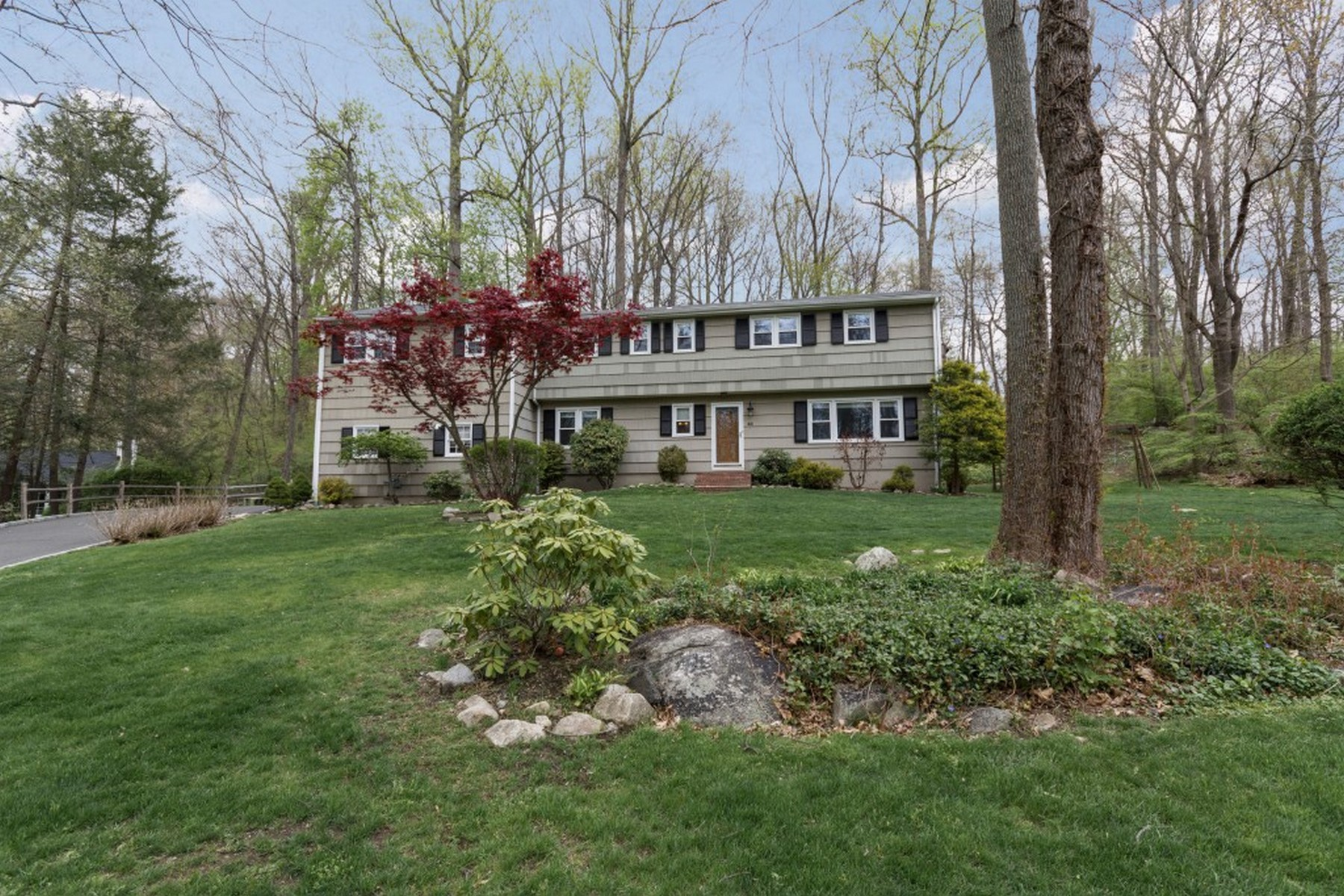Single Family Home for Sale at Newfield Colonial 40 Norvel Lane Stamford, Connecticut, 06905 United States