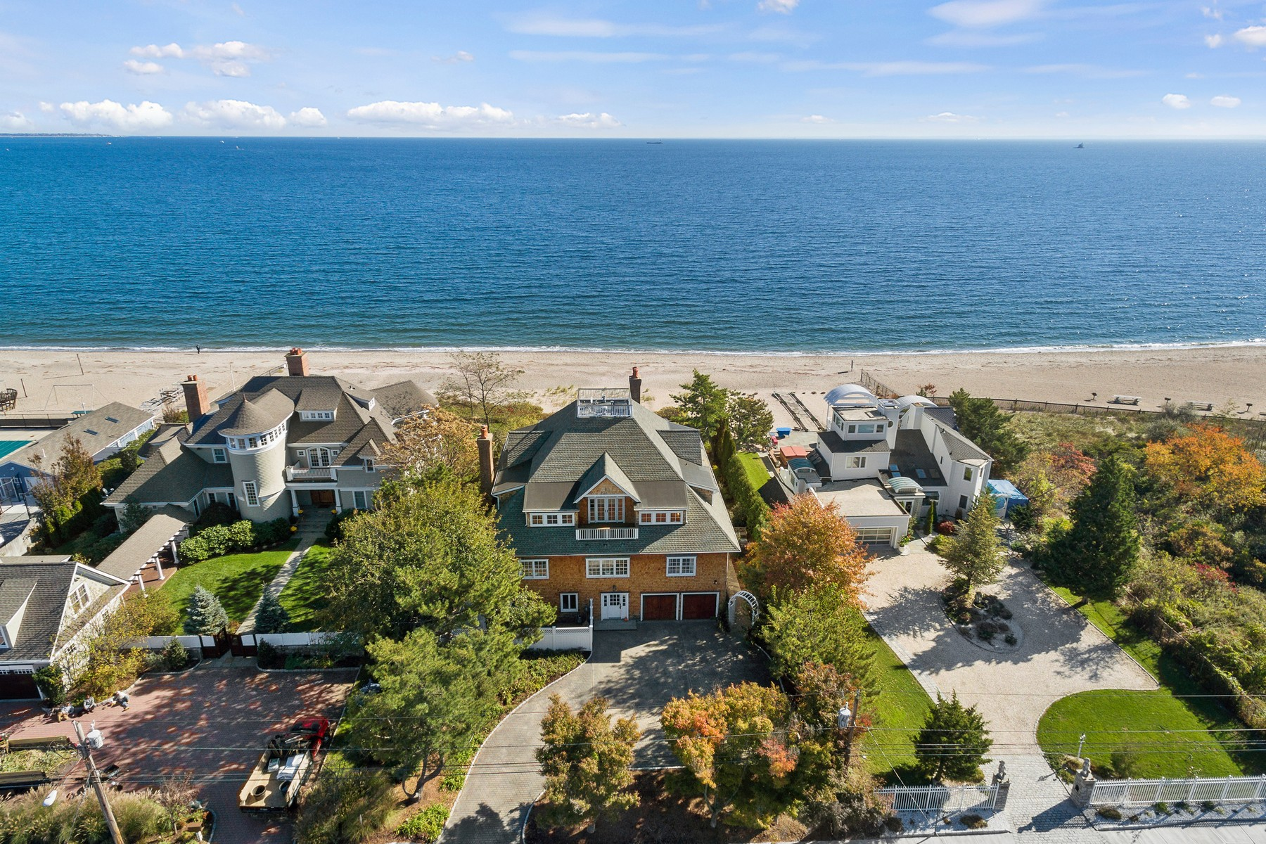 Single Family Home for Sale at The Ultimate Beach House 195 Fairfield Beach Road Fairfield, Connecticut, 06824 United States