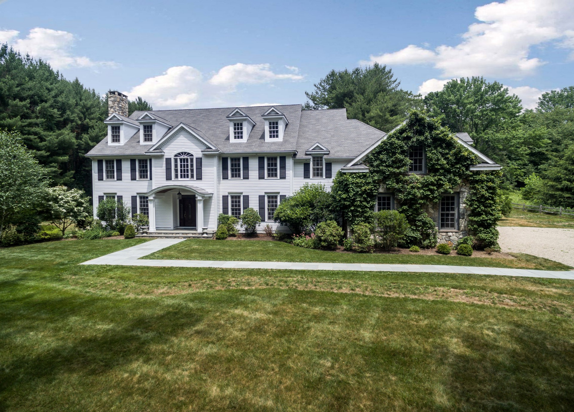 Single Family Home for Sale at Timeless Elegance 20 Old Stagecoach Road Redding, Connecticut 06896 United States