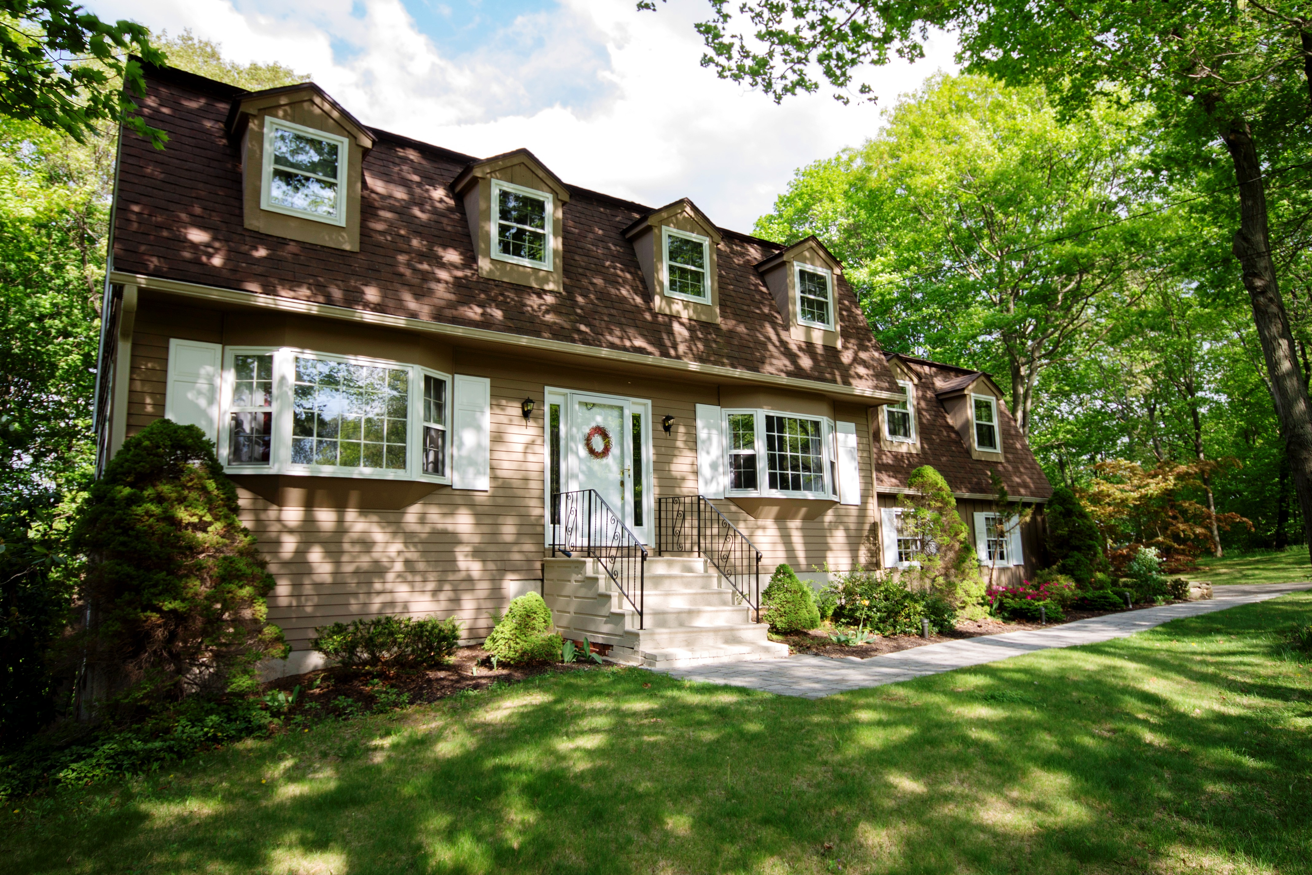 Single Family Home for Sale at Lovely Center Hall Colonial 28 Round Hill Drive Danbury, Connecticut 06811 United States