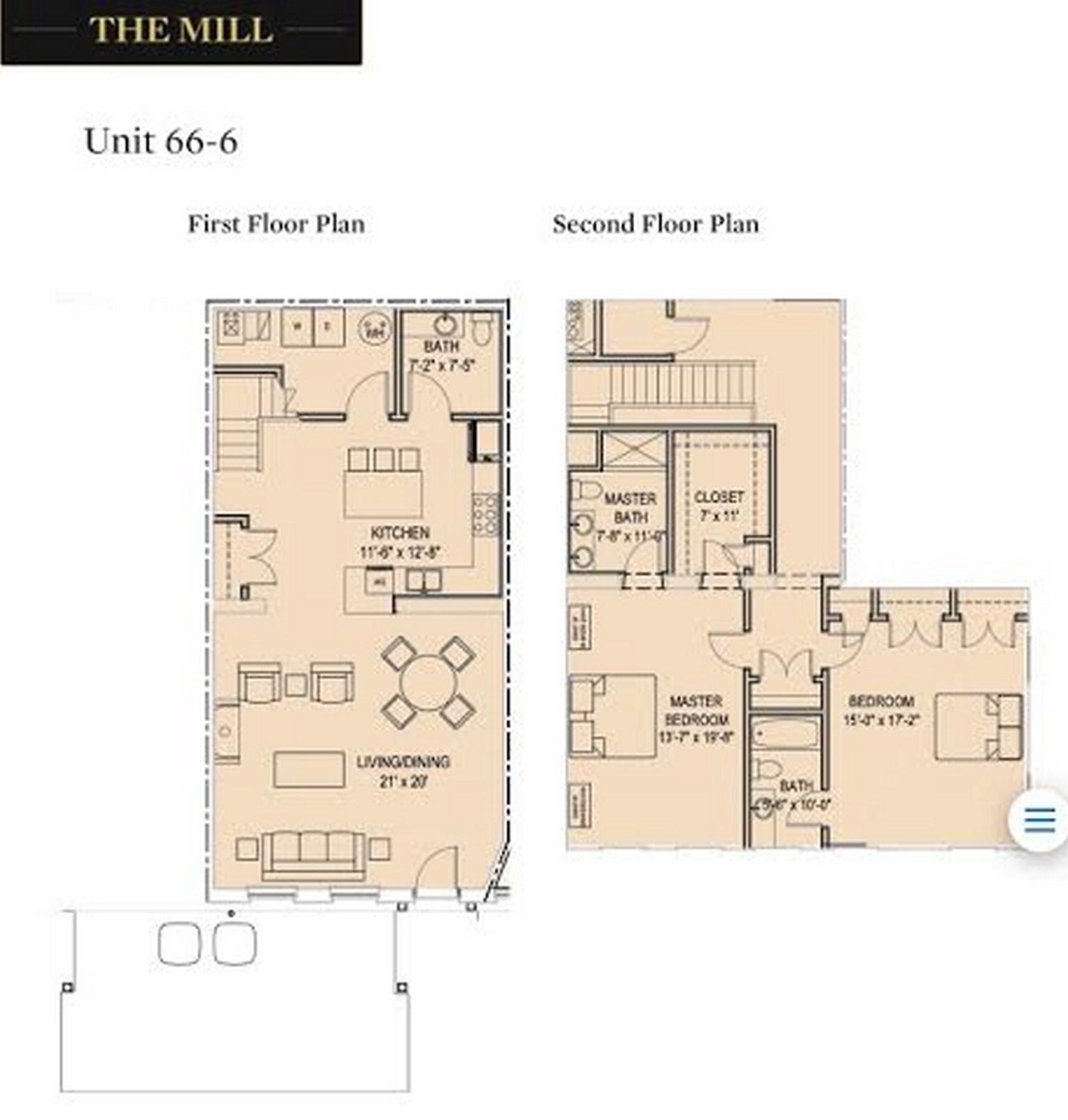 Condominium for Sale at 66-6 High St 66-6 High St Mill Building, Unit H Guilford, Connecticut, 06437 United States