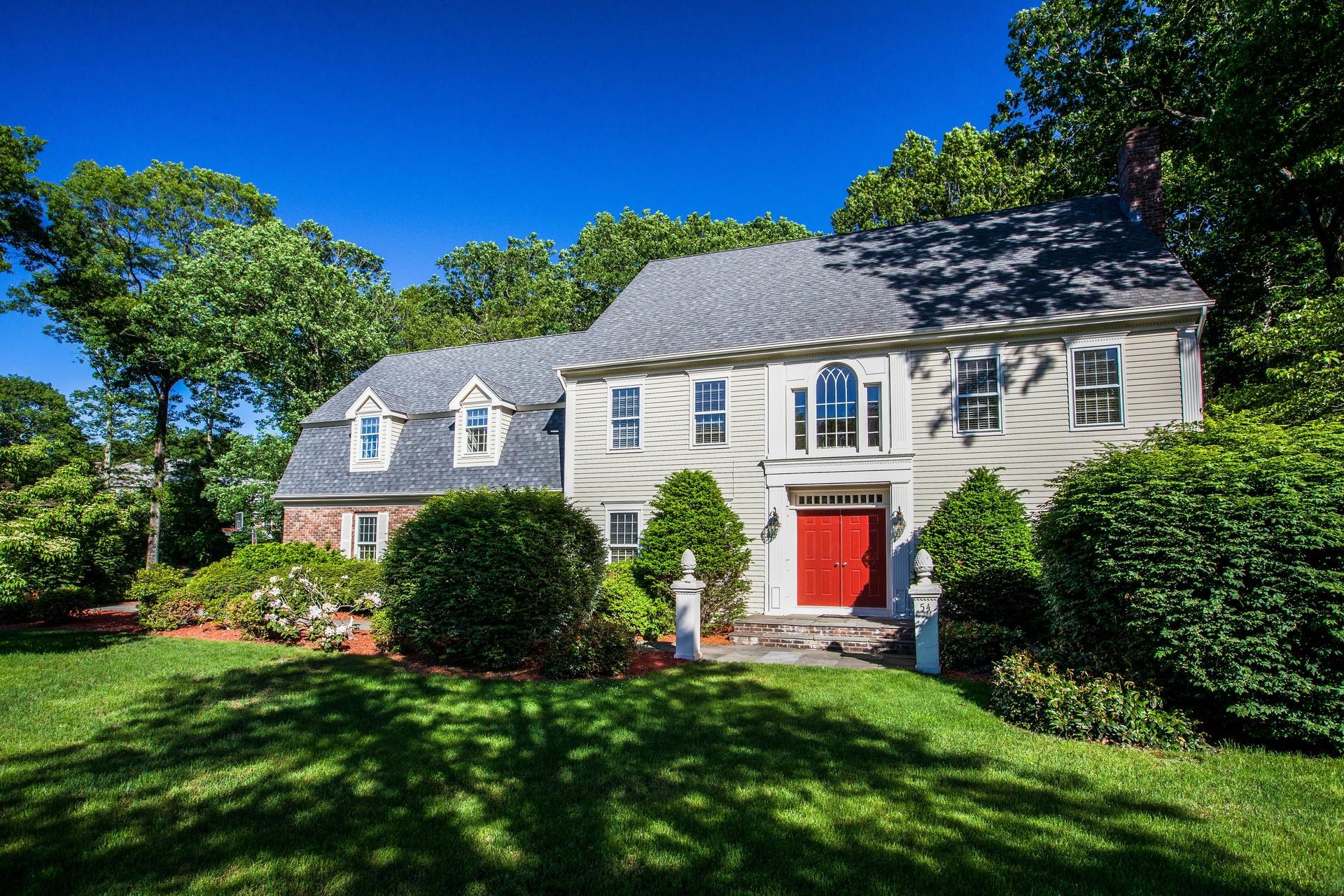 Casa Unifamiliar por un Venta en 54 Field Brook Rd Madison, Connecticut, 06443 Estados Unidos
