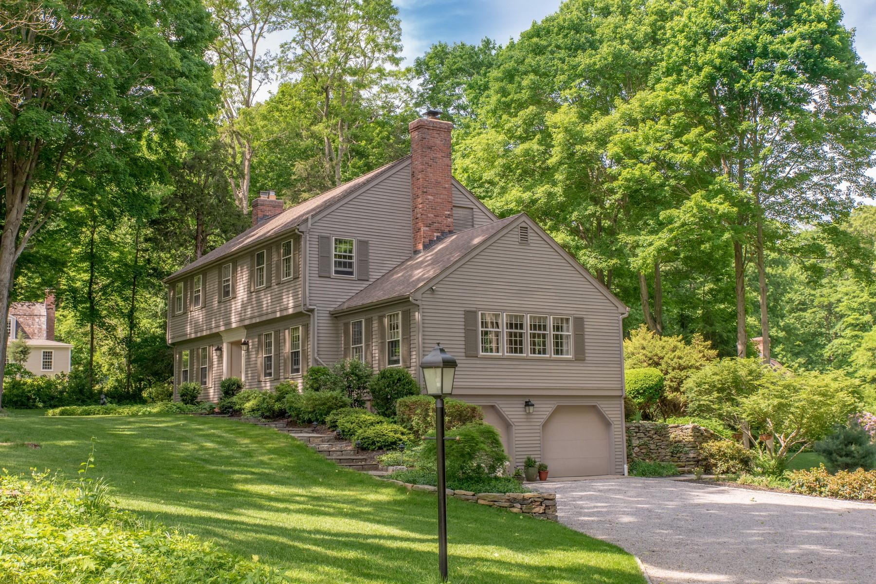 独户住宅 为 销售 在 Recently Renovated, Gracious Colonial 3 Hudson Ln 埃塞克斯, 康涅狄格州, 06426 美国