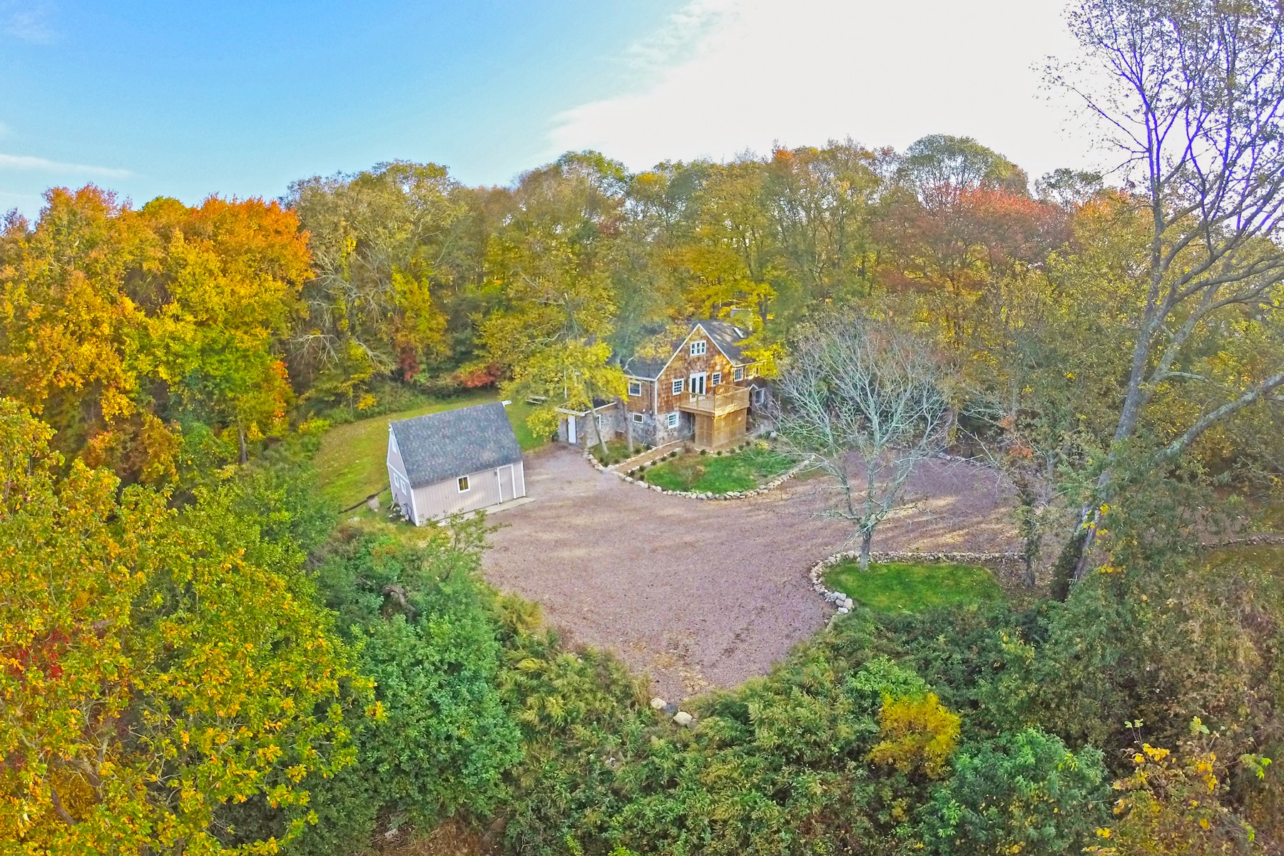 Single Family Home for Sale at Unique Property With In-Law Apartment 237 Taugwonk Rd Stonington, Connecticut, 06378 United States