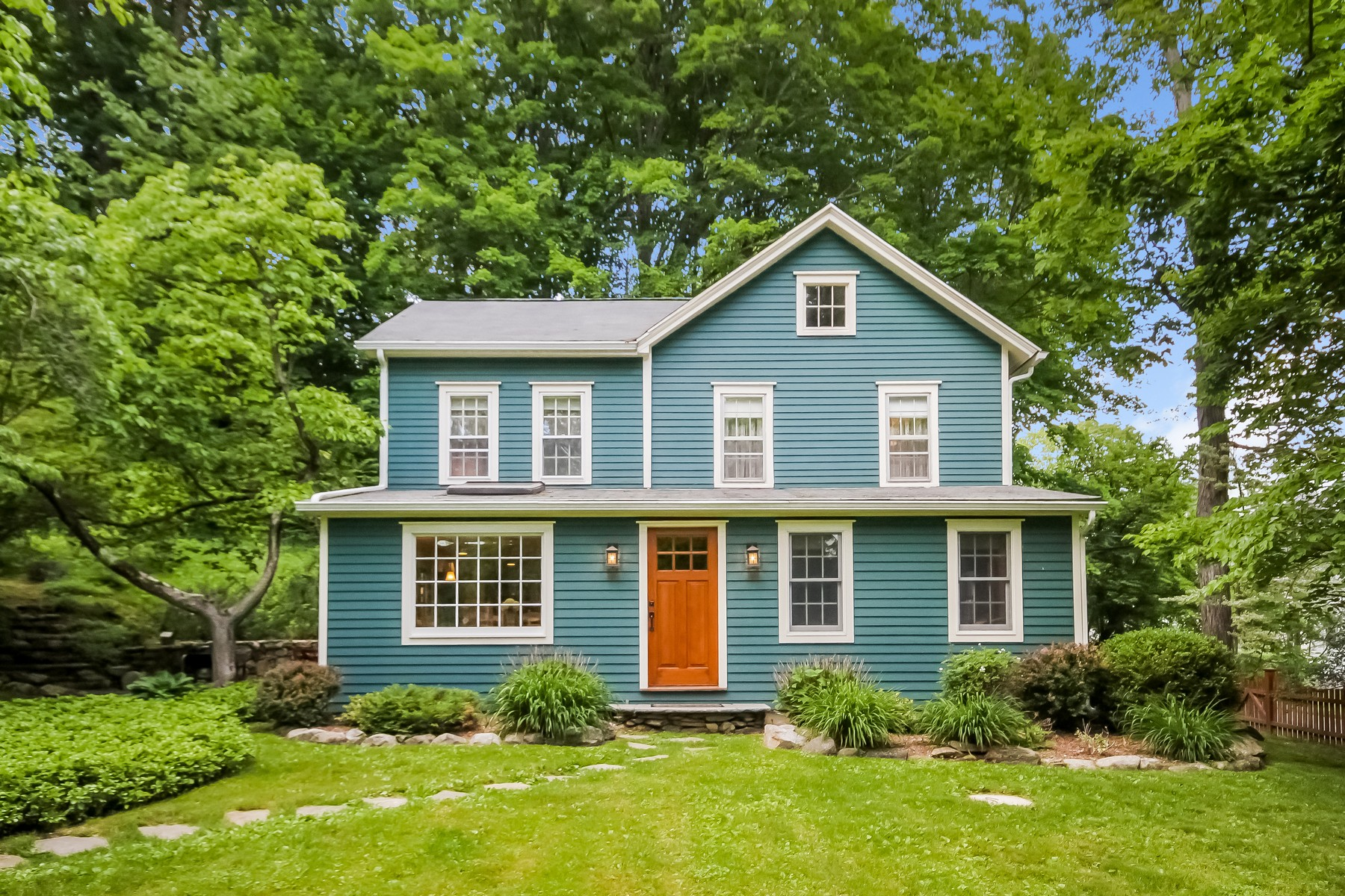 Single Family Home for Sale at Dreamy Antique Colonial 23 Church Street Wilton, Connecticut, 06897 United States