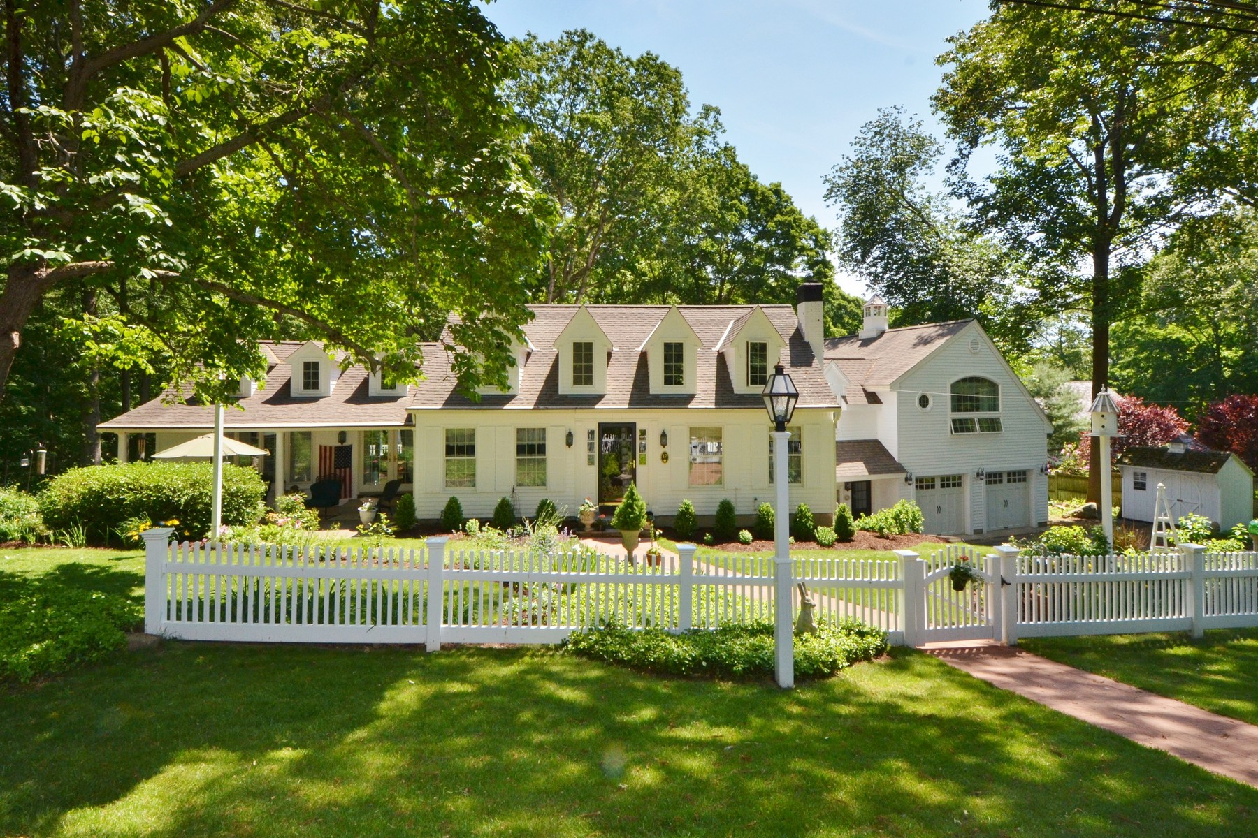 sales property at New England Style Home