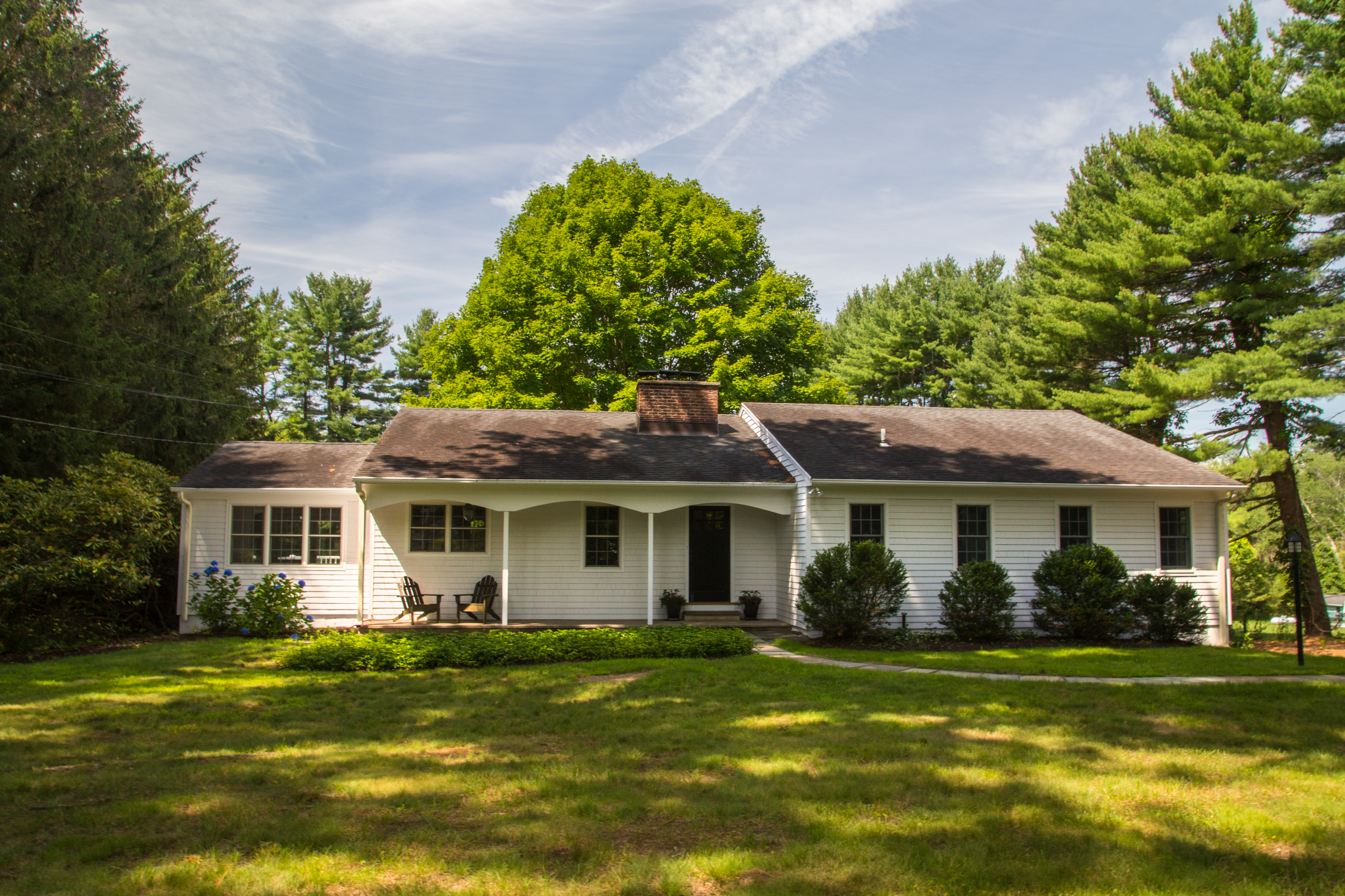 Single Family Home for Sale at Renovated Ranch 143 North Avenue Westport, Connecticut 06880 United States