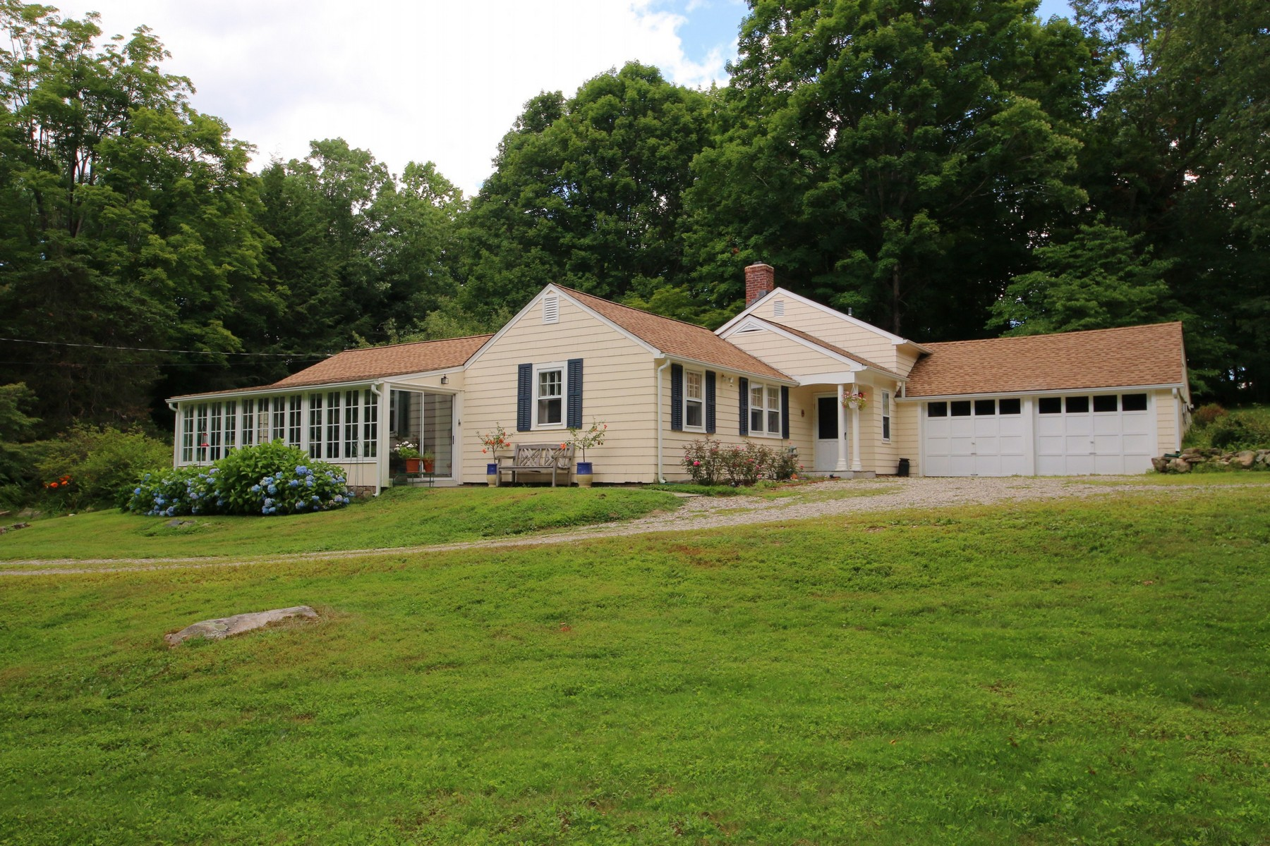 Single Family Home for Sale at Picture Perfect Rambling Cottage 82 Marchant Road Redding, Connecticut 06896 United States