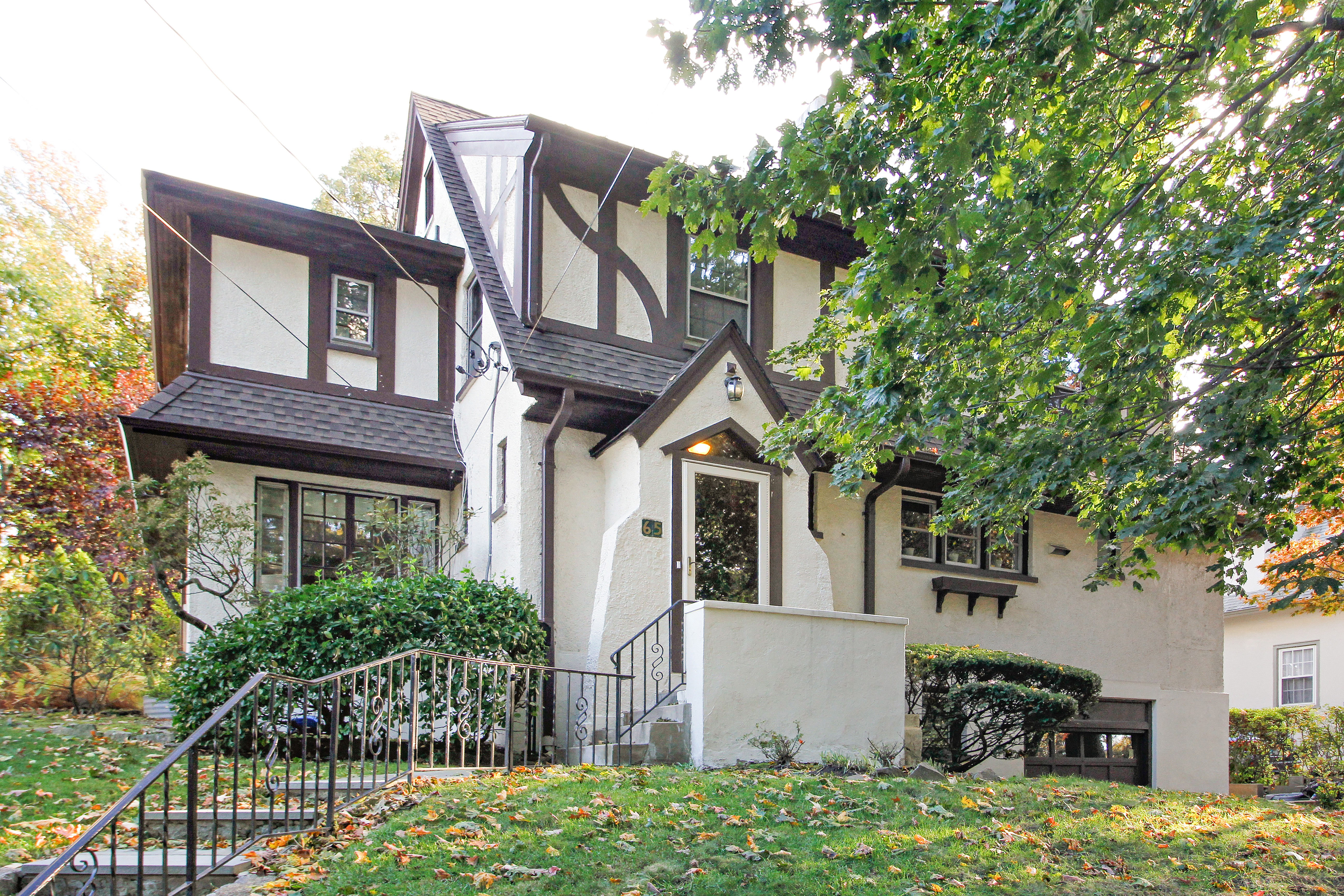 Single Family Home for Sale at Delightful Larchmont Woods Tudor 65 Wildwood Road New Rochelle, New York 10804 United States