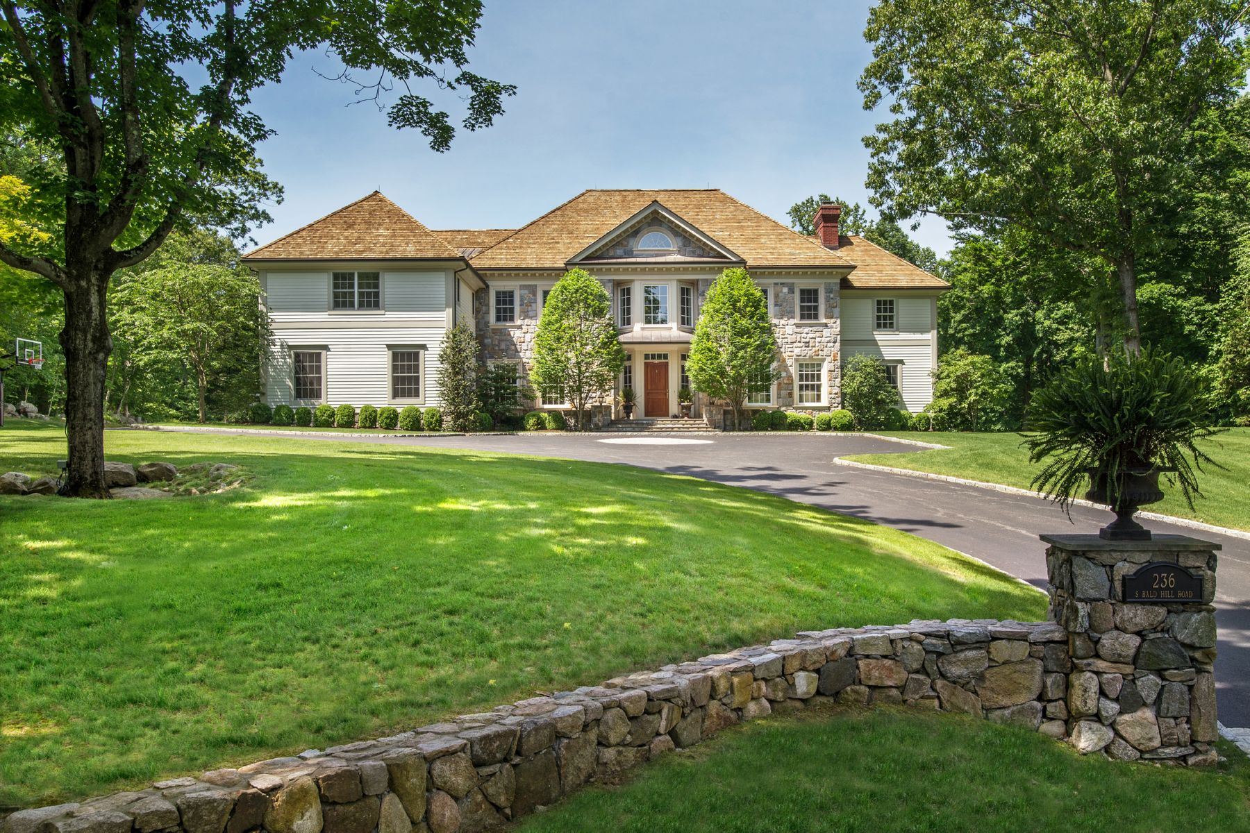 rentals property at Classic Stone & Shingle Colonial