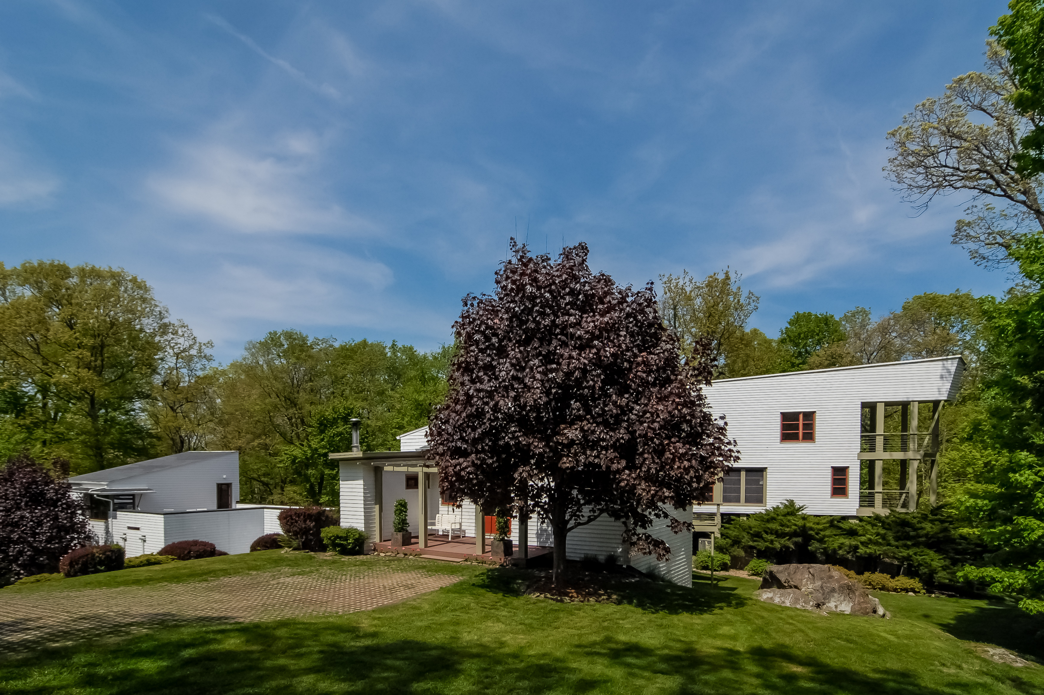 Single Family Home for Sale at Modern Hill Home 2114 Quaker Ridge Road Croton On Hudson, New York, 10520 United States