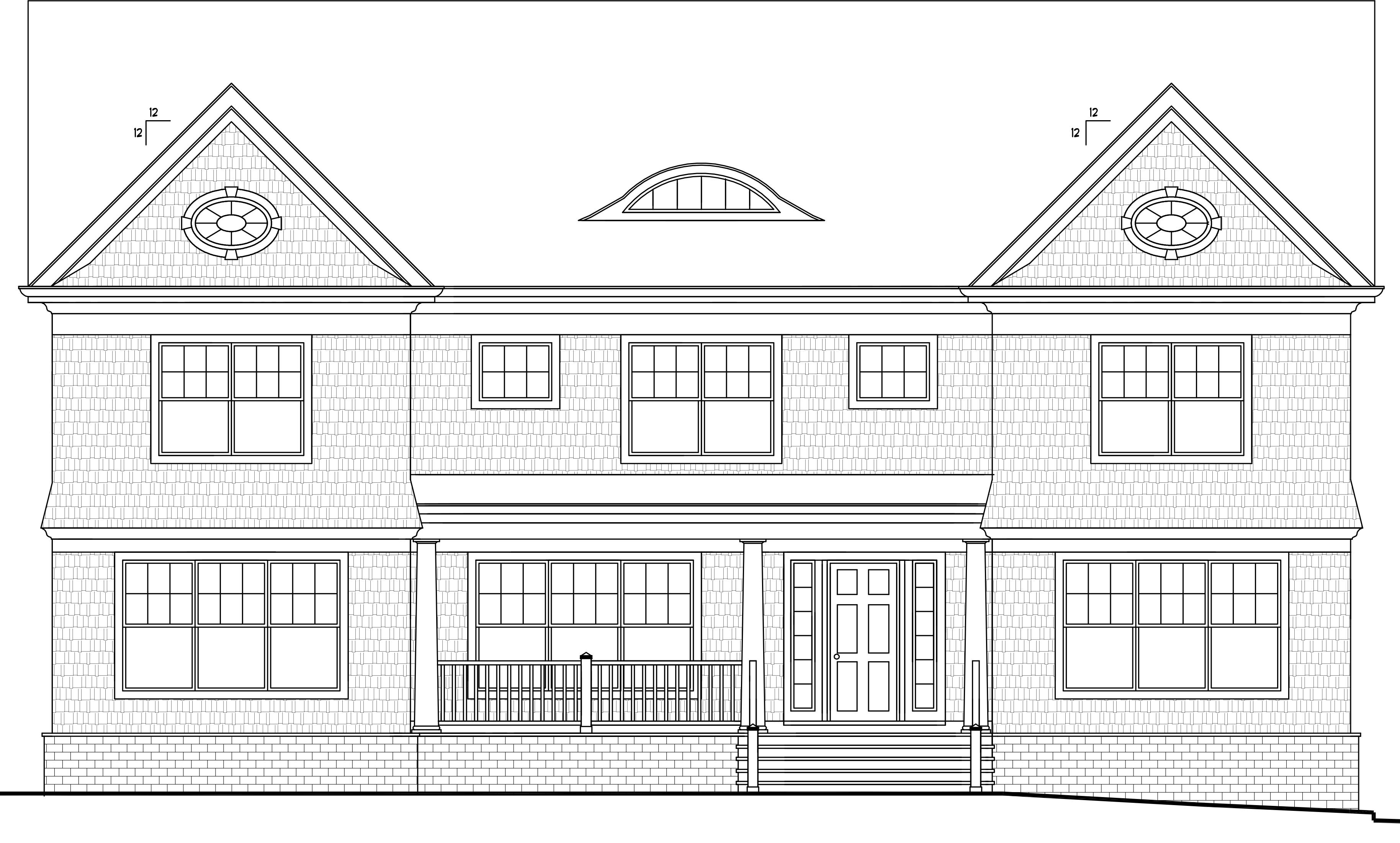 Maison unifamiliale pour l Vente à 55 Sanford Street Rye, New York, 10580 États-Unis