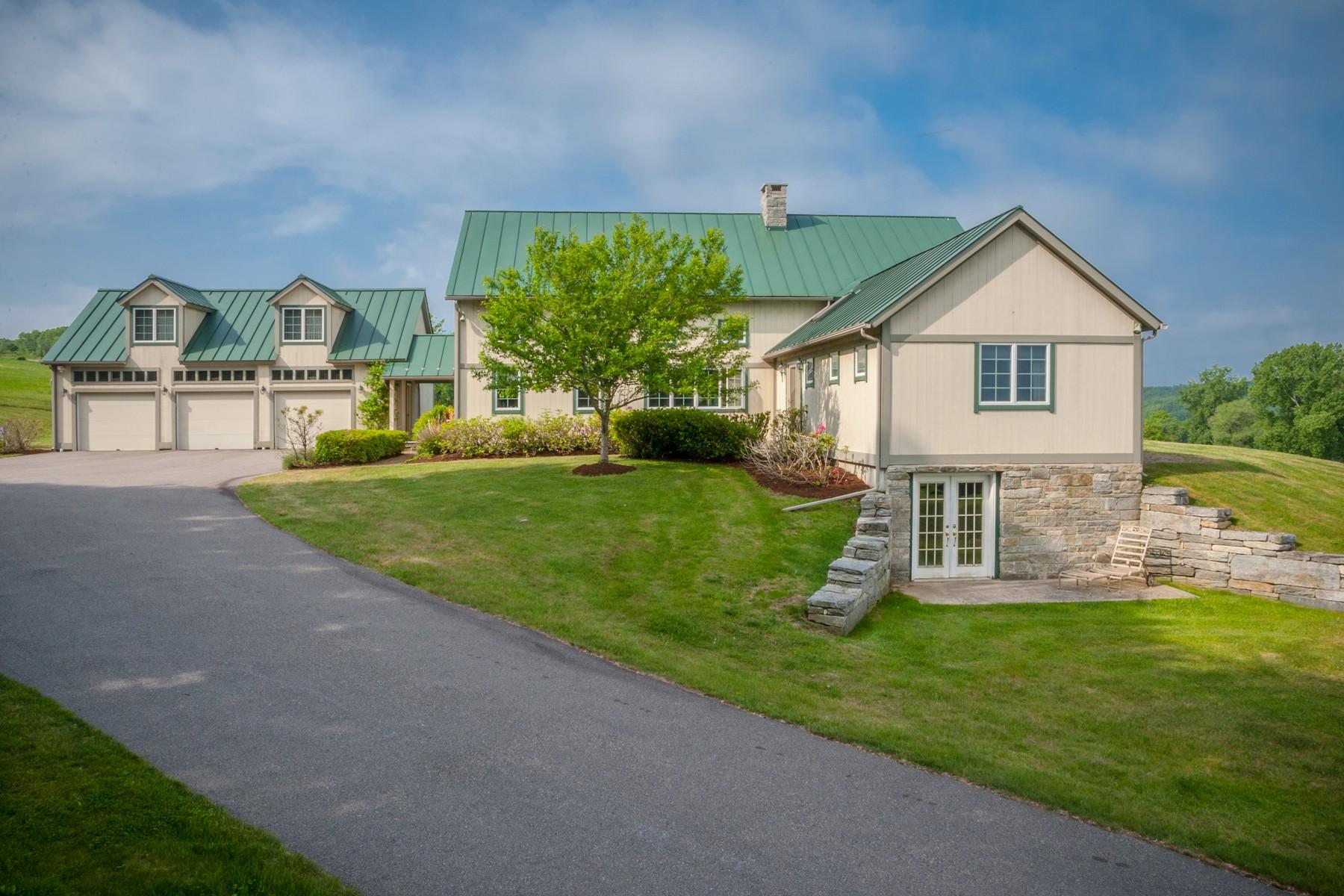 农场 / 牧场 / 种植园 为 销售 在 Hearth Stone Farm 32 Audette Road 富兰克林, 康涅狄格州, 06254 美国