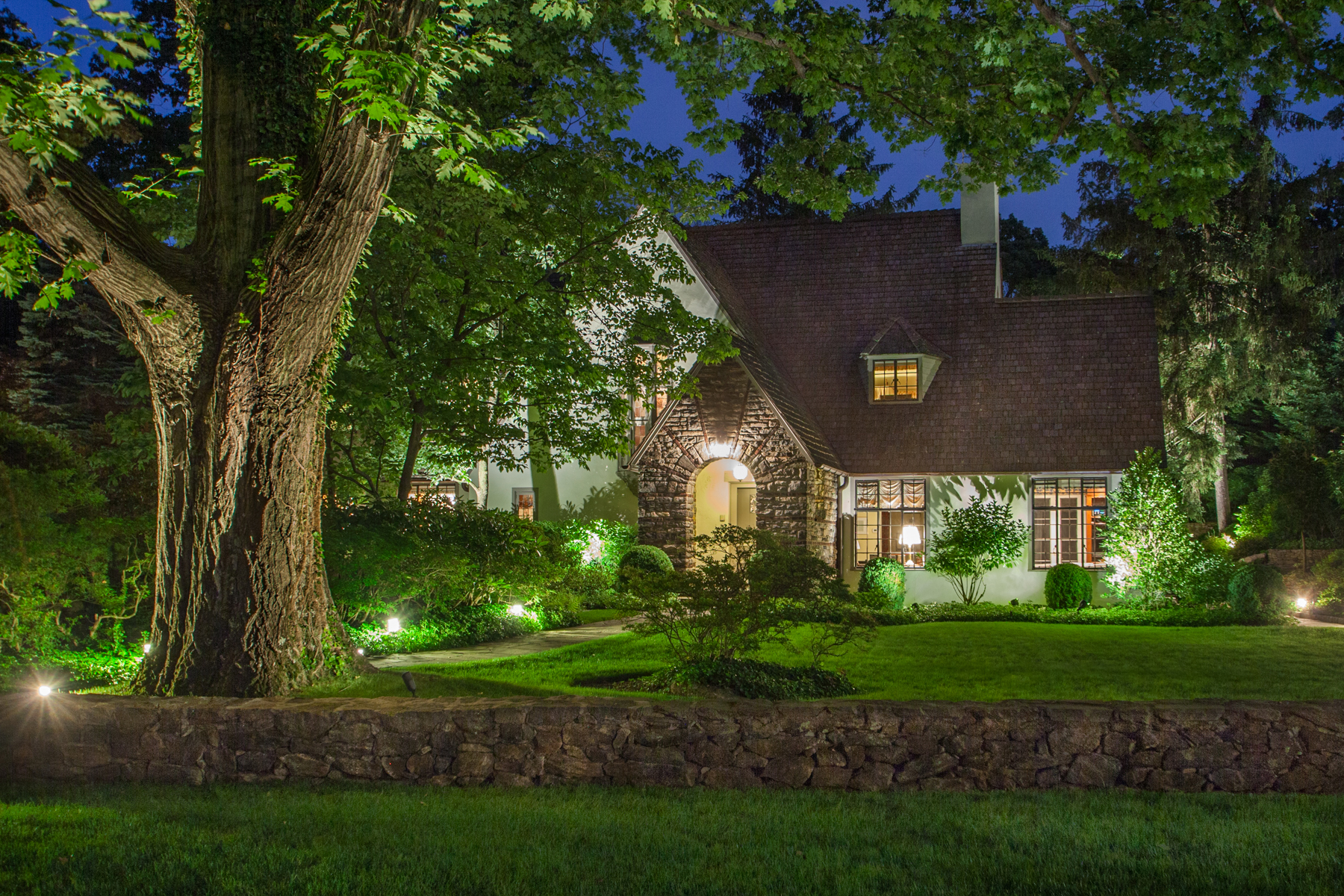 Single Family Home for Sale at Beautiful Normandy Tudor 4 High Road Bronxville, New York, 10708 United States
