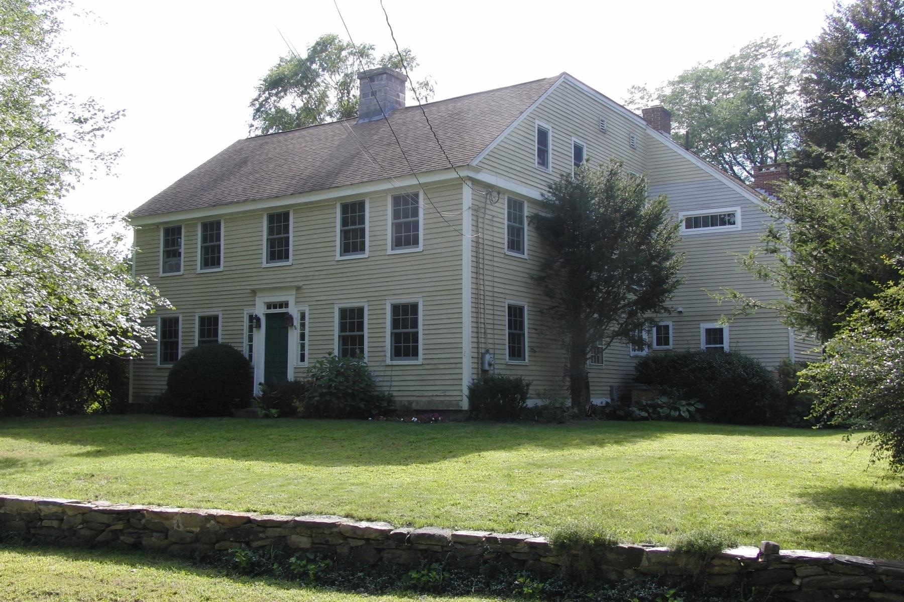Einfamilienhaus für Verkauf beim 2 Babcock Hill Rd Lebanon, Connecticut 06249 Vereinigte Staaten