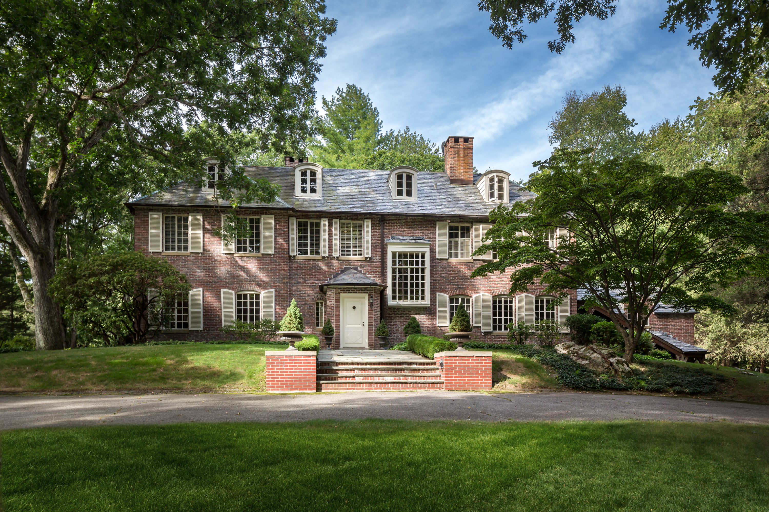 Single Family Home for Sale at Cedar Knoll 360 Greenley Road New Canaan, Connecticut, 06840 United States
