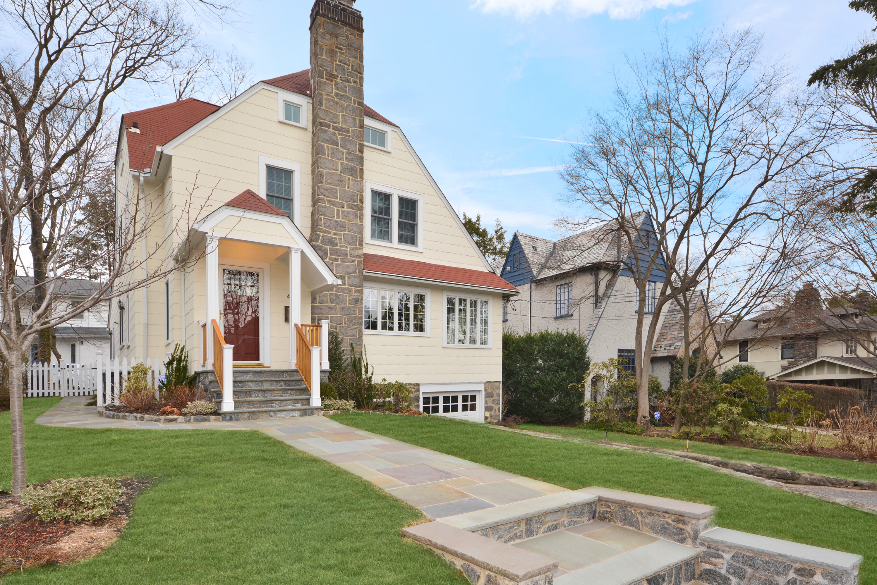 sales property at Outstanding Larchmont Gardens Colonial