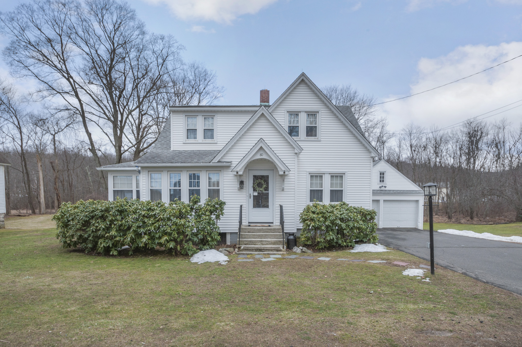 Single Family Home for Sale at Classic Styled Cape Colonial 80 Great Plain Road Danbury, Connecticut, 06811 United States