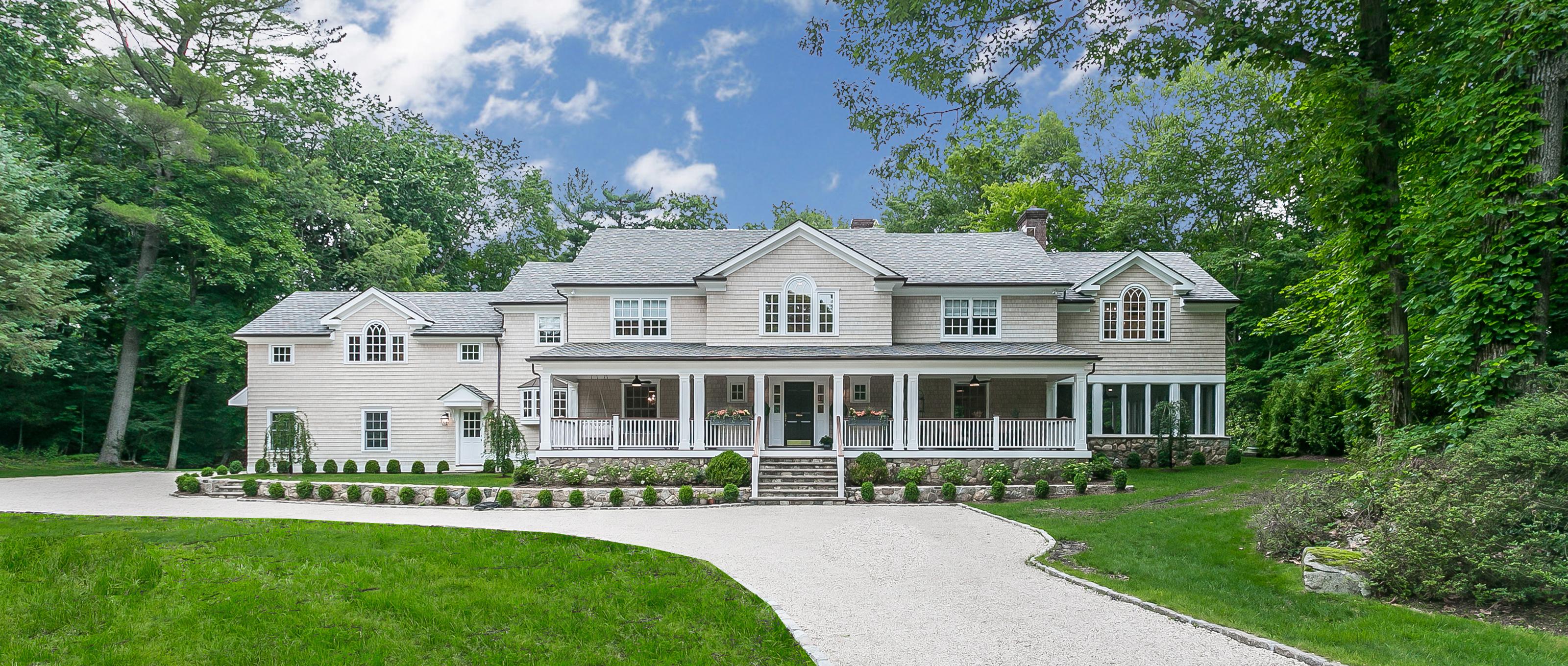 Villa per Vendita alle ore Spectacular rebuilt/new construction home 11 Archer Road Harrison, New York 10528 Stati Uniti