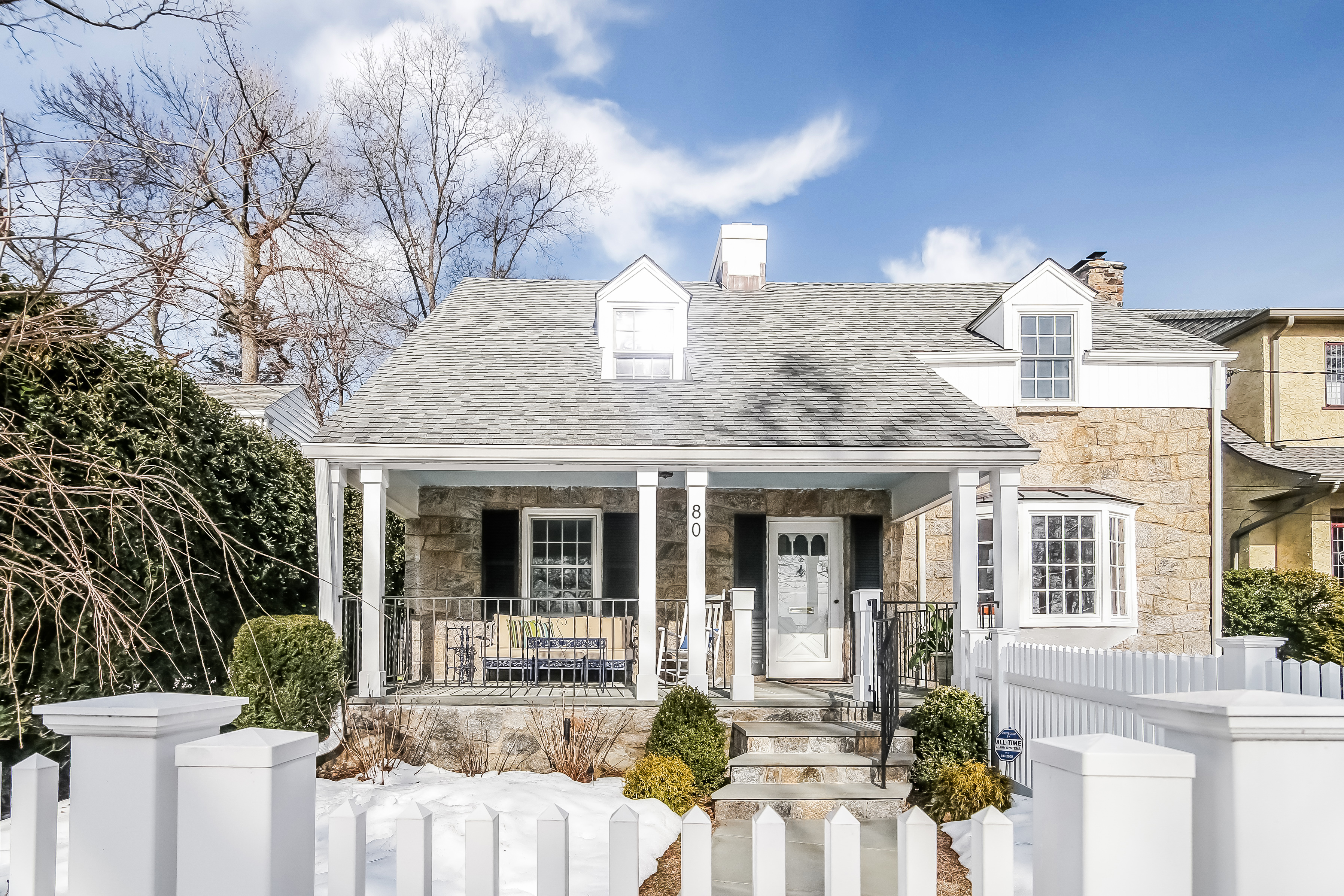Single Family Home for Sale at Picture Perfect Colonial 80 Mountain Avenue New Rochelle, New York 10804 United States
