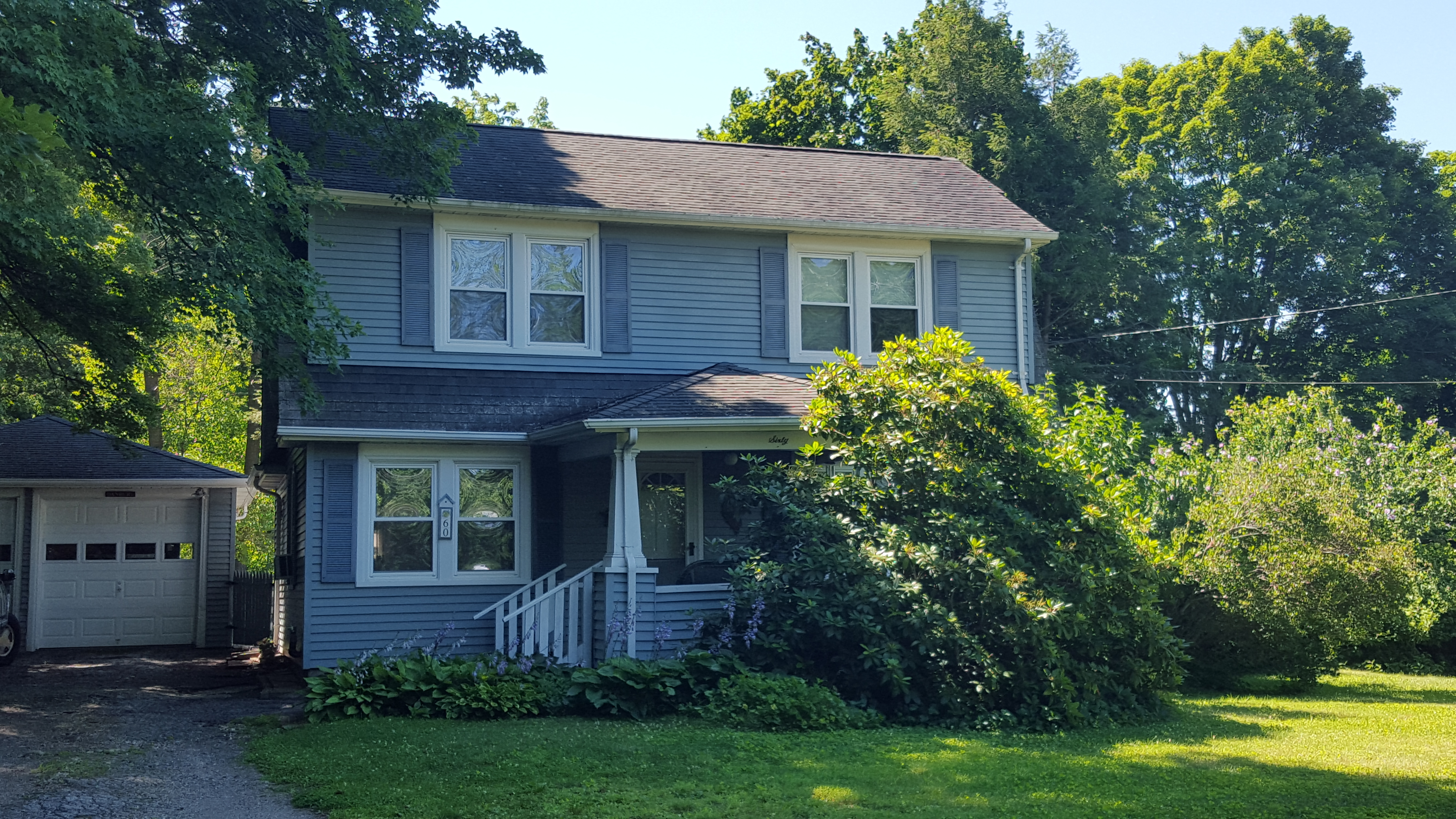 Single Family Home for Sale at Charming Farmhouse Colonial 60 Wooster Heights Danbury, Connecticut, 06810 United States