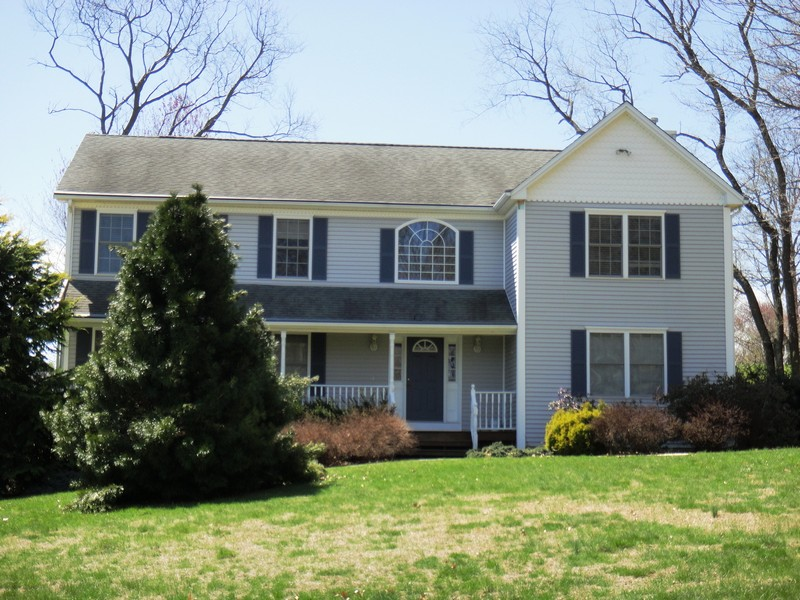 Property For Sale at Stately Colonial On Picturesque Lot