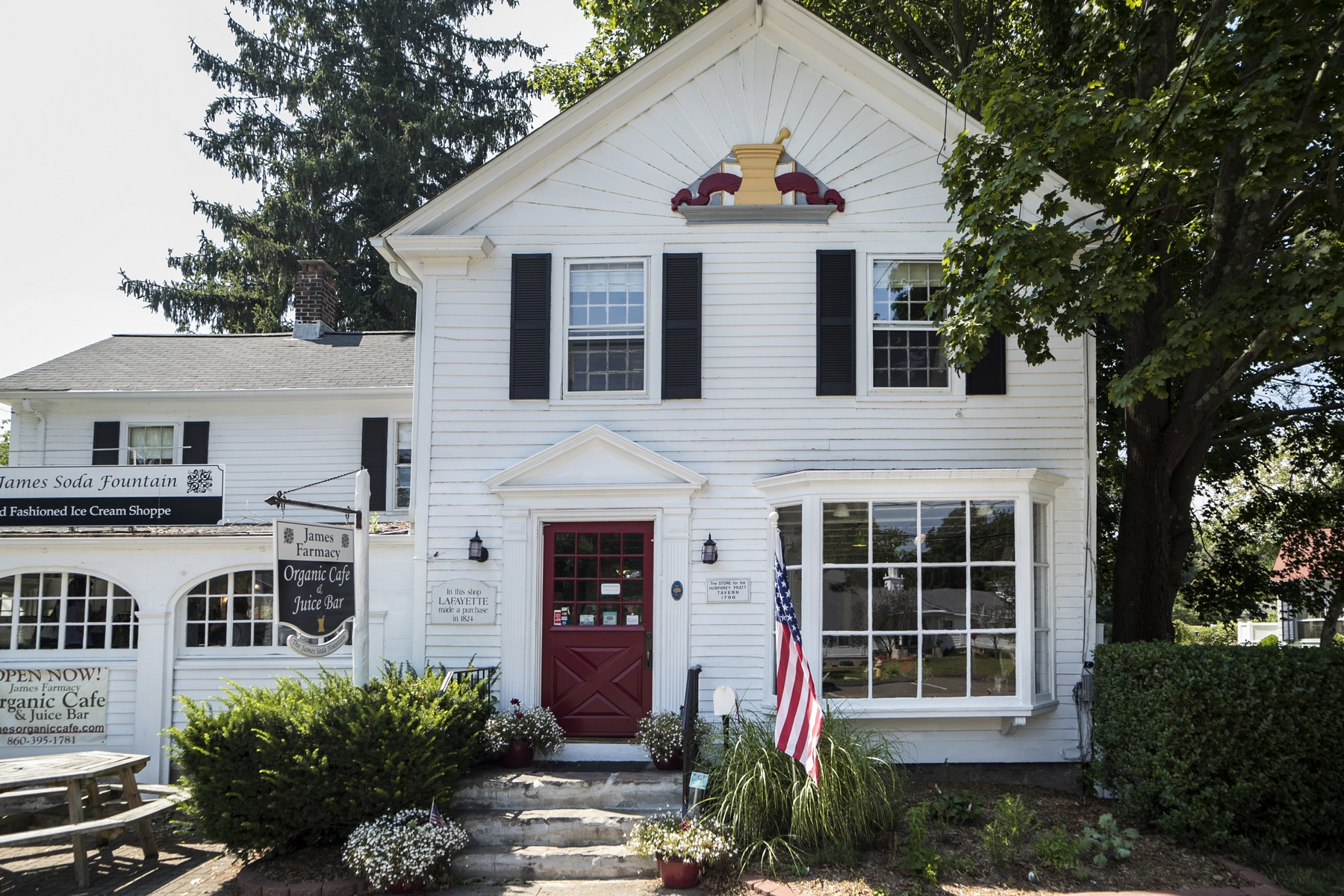 sales property at The James Pharmacy Soda Fountain and B&B
