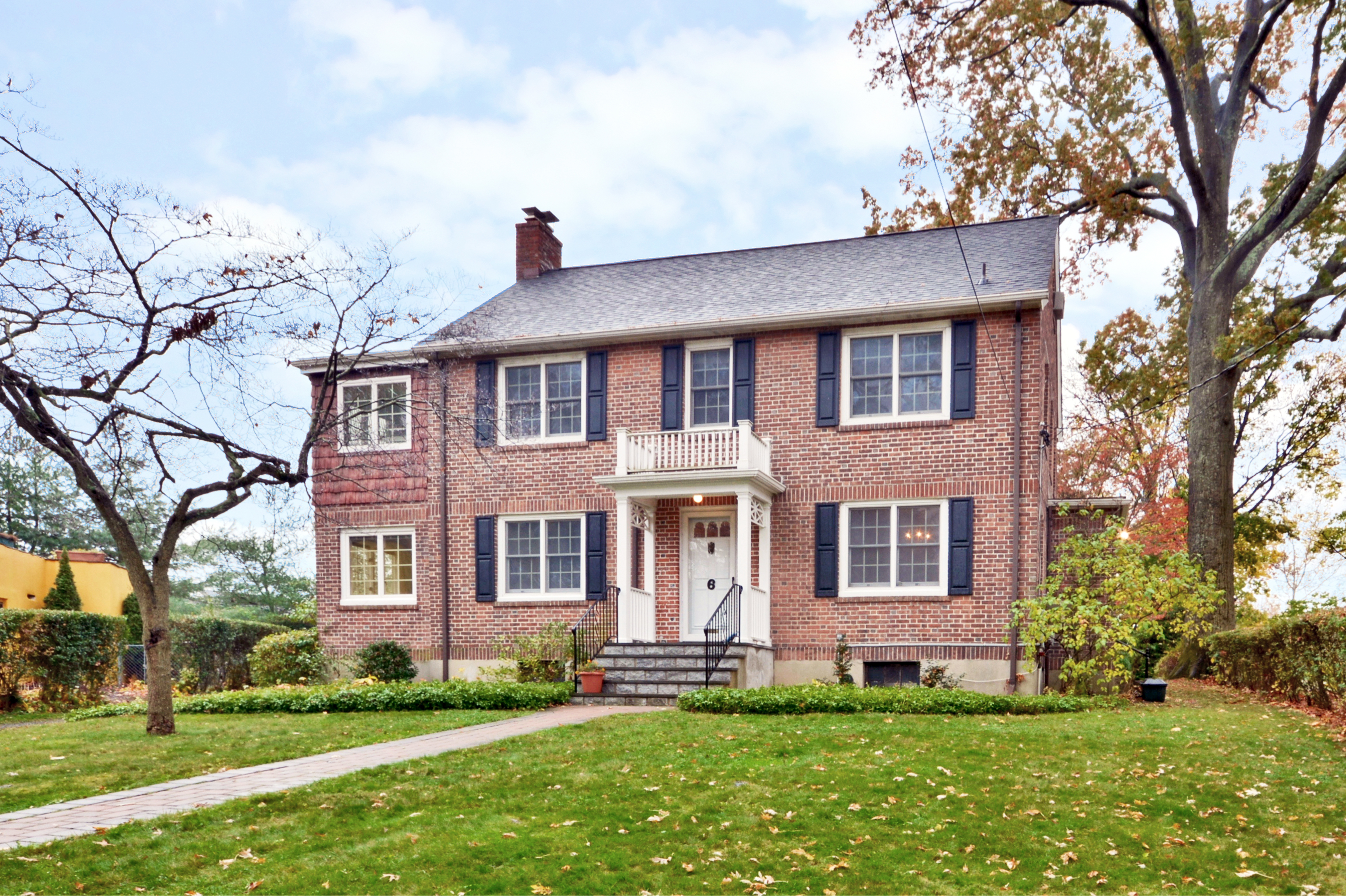 Property For Sale at Classic Brick Center Hall Colonial