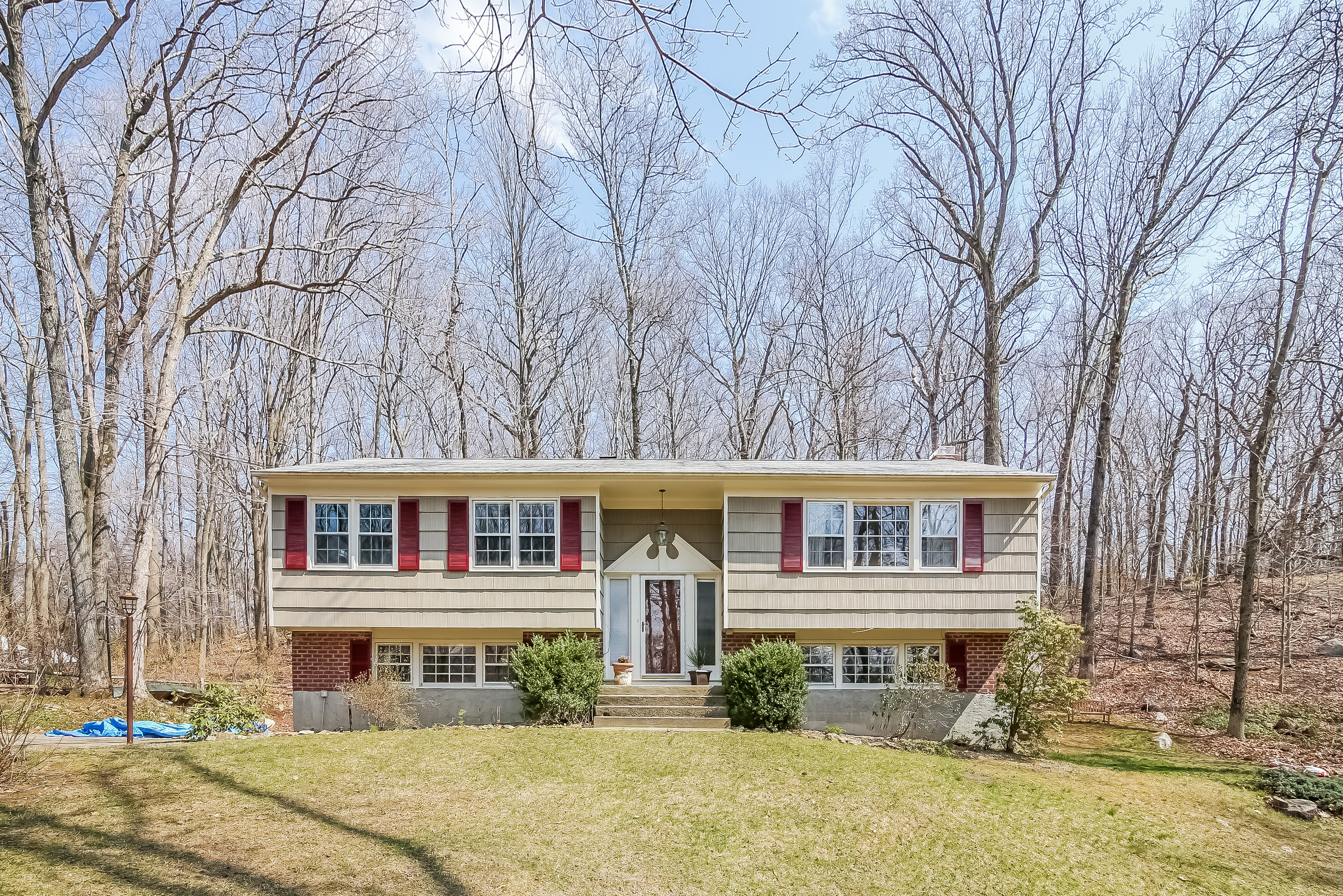 Single Family Home for Sale at Spacious Raised Ranch 92 Lakeside Drive Katonah, New York, 10536 United States