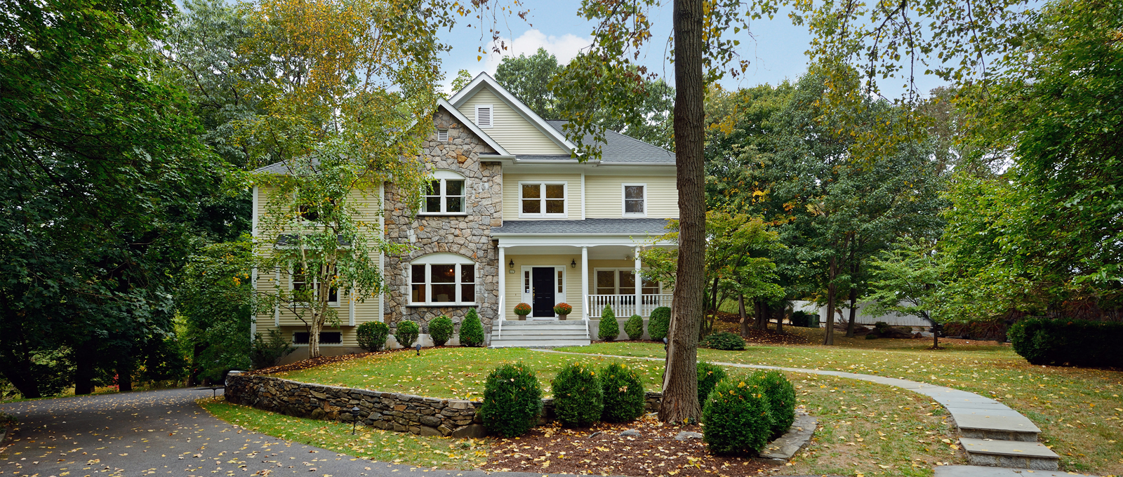 Single Family Home for Sale at Inviting Colonial 445 Grace Church Street Rye, New York 10580 United States