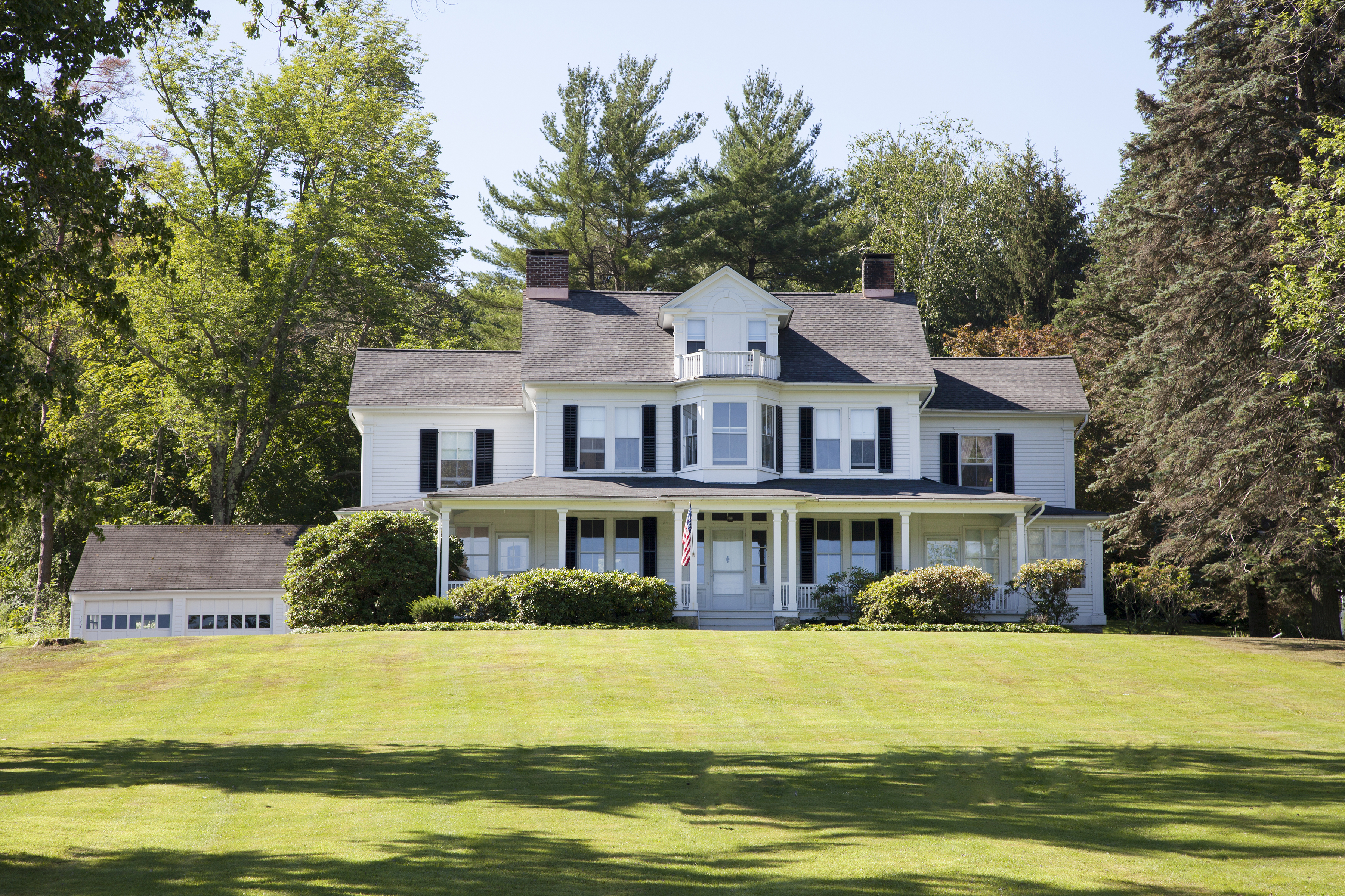 Property For Sale at Spectacular Lake Waramaug Victorian