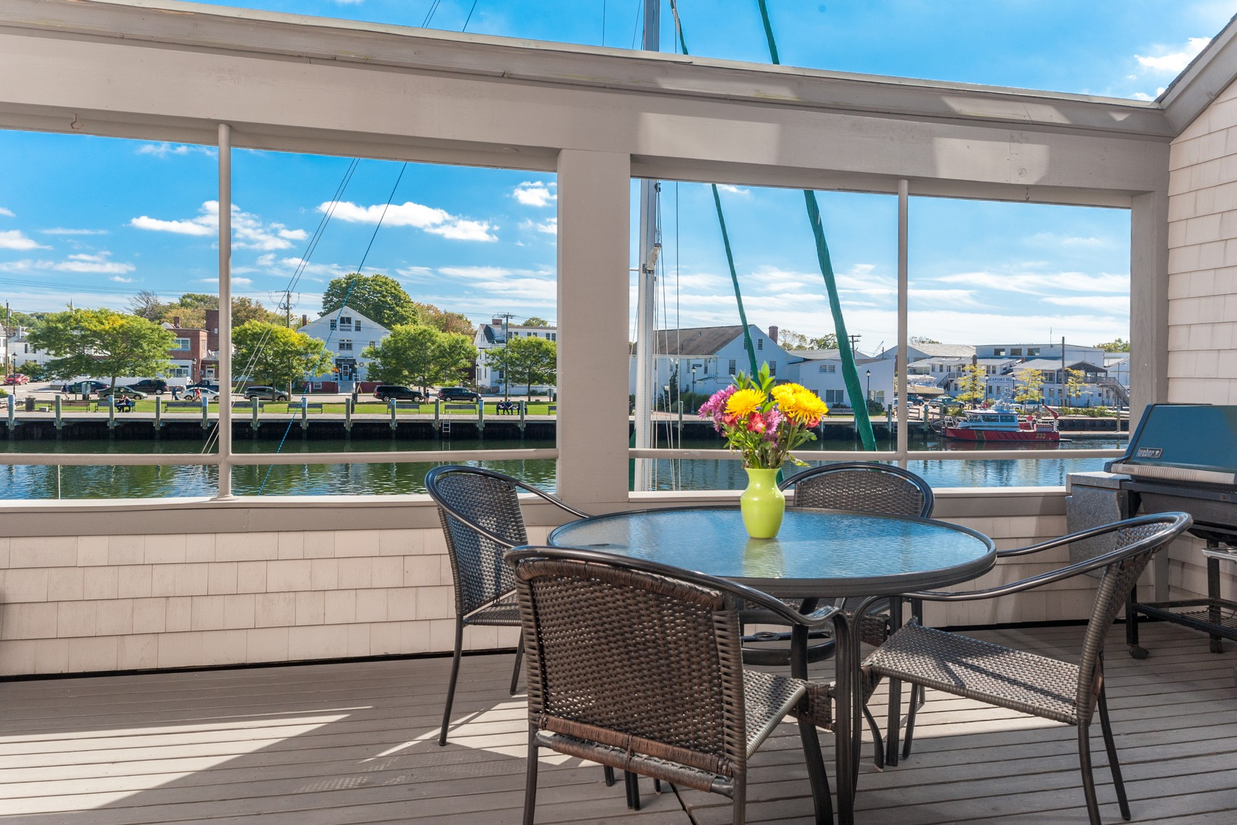 sales property at Direct waterfront in the heart of Mystic