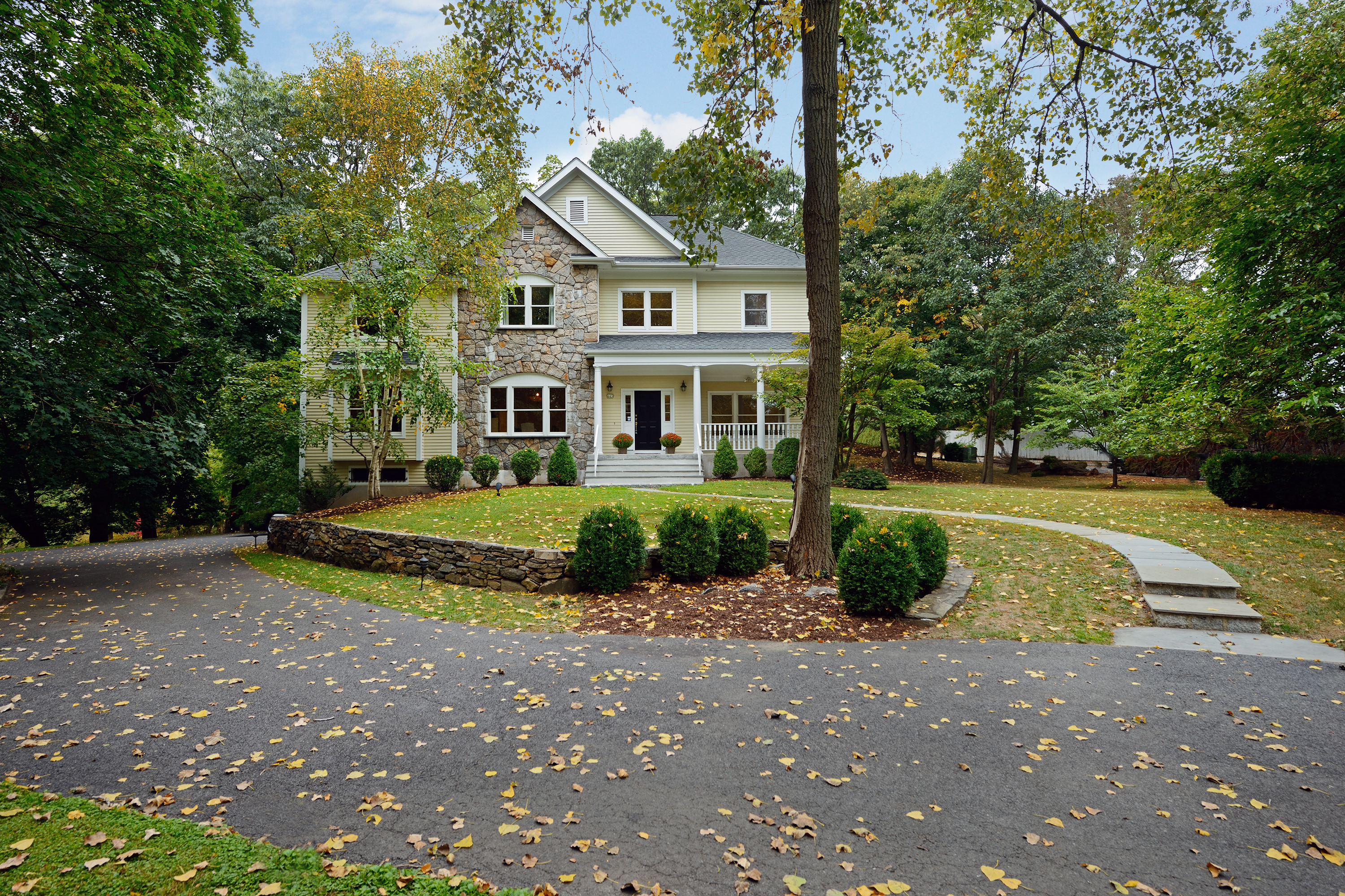 Property For Sale at Stone and clapboard Colonial