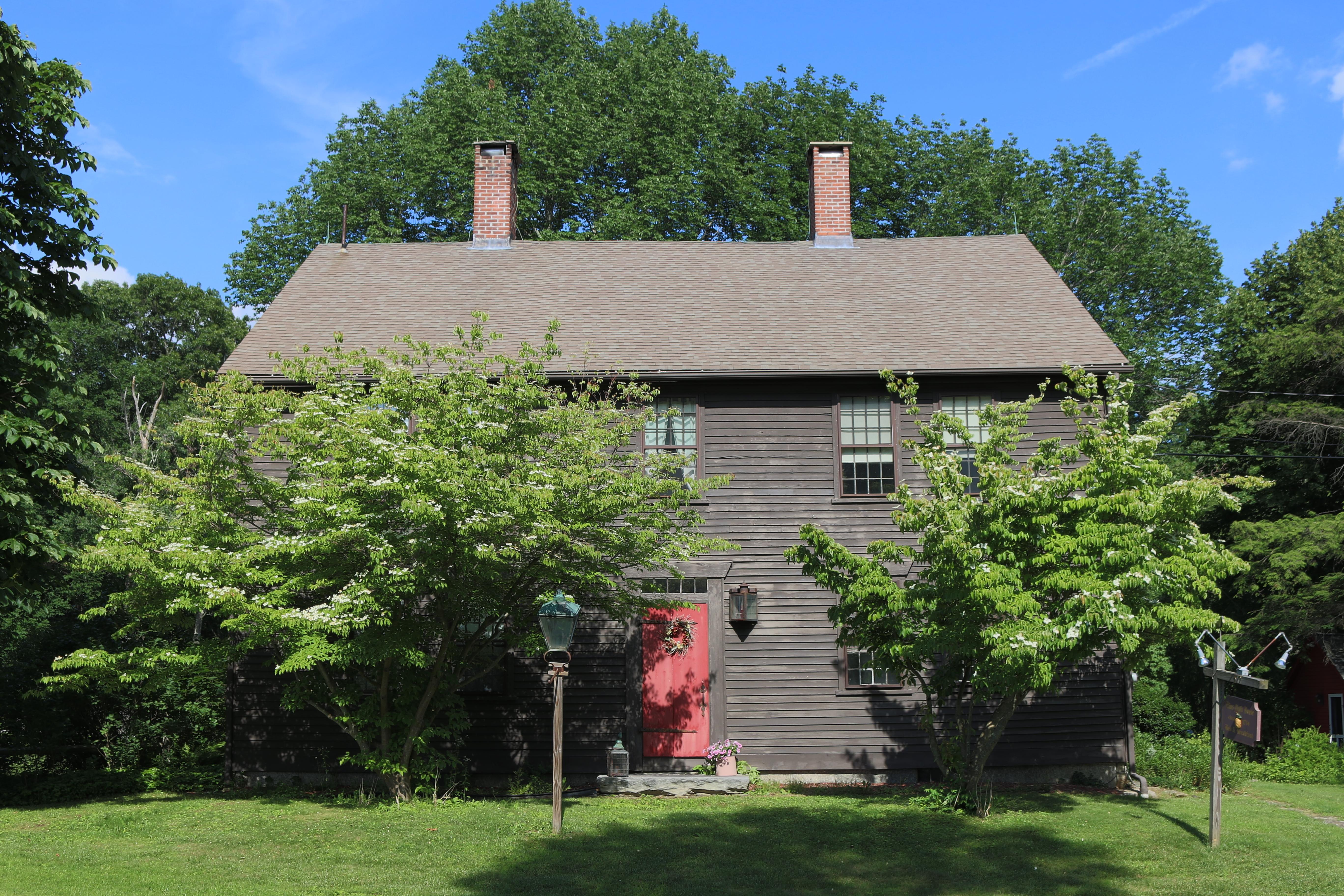 단독 가정 주택 용 매매 에 The Elias Child House 50 Perrin Road Woodstock, 코네티컷 06281 미국