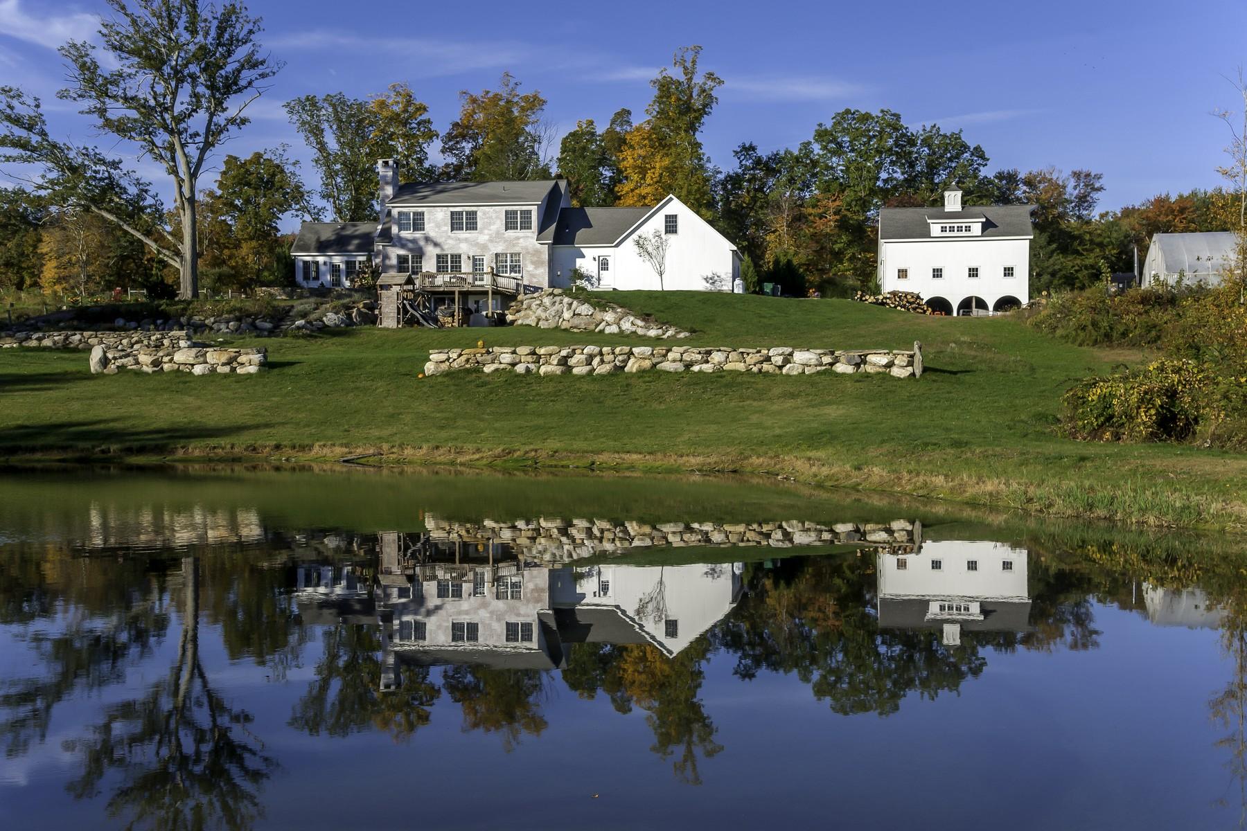 Farm / Ranch / Plantation for Sale at Devon Point Farm 54 Joy Road Woodstock, Connecticut, 06281 United States