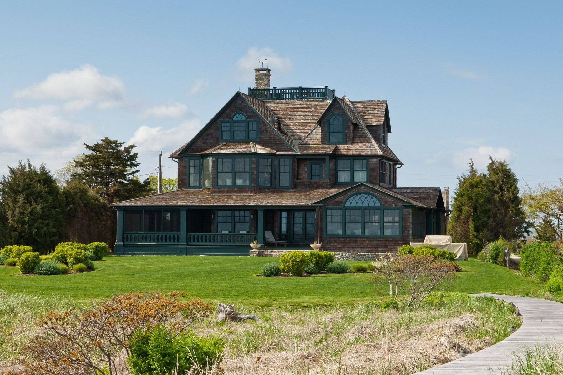 Single Family Home for Sale at Magical Seaside Enclave of Fenwick 102 A Sequassen Ave Old Saybrook, Connecticut, 06475 United States